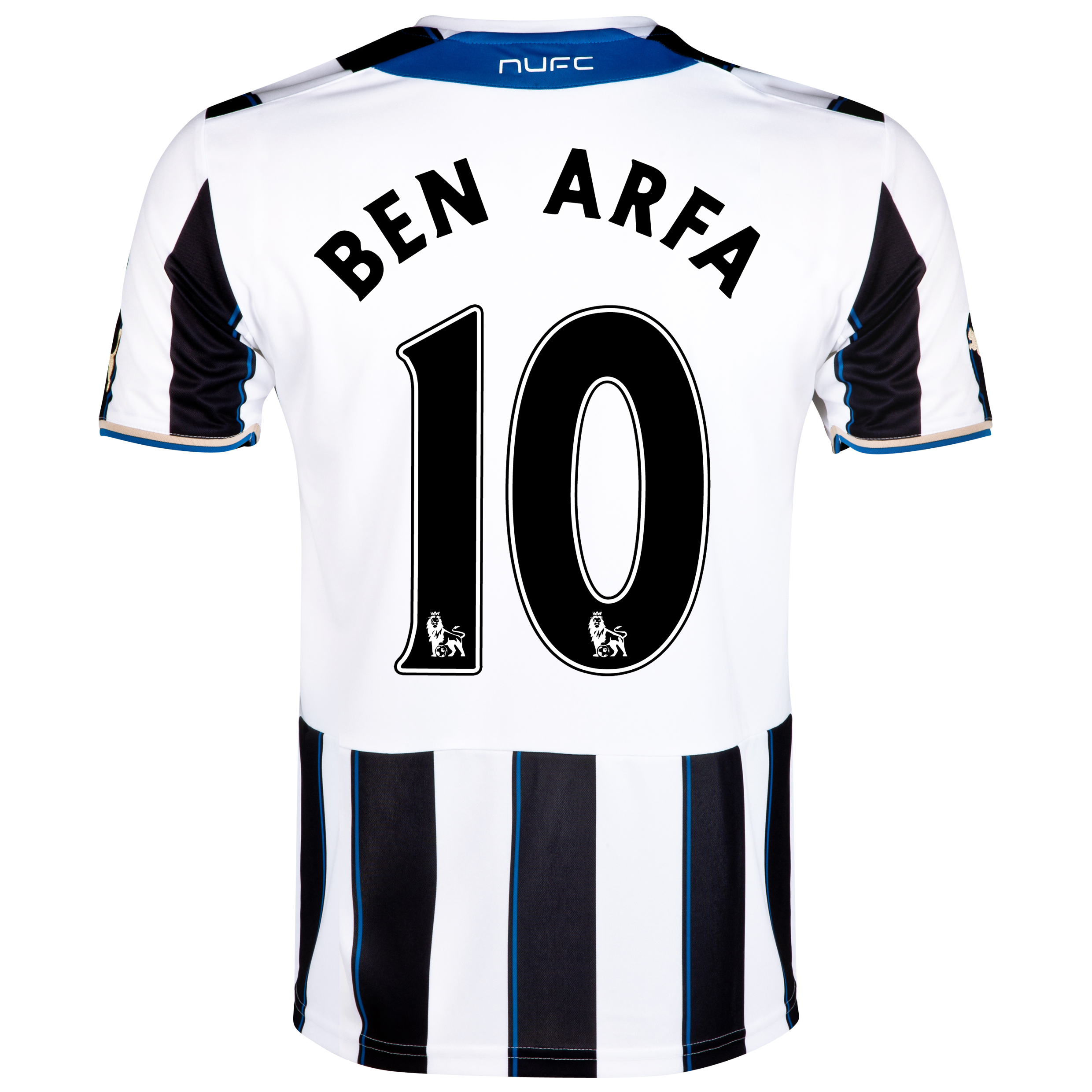 Newcastle United Home Shirt 2013/14 with Ben Arfa 10 printing