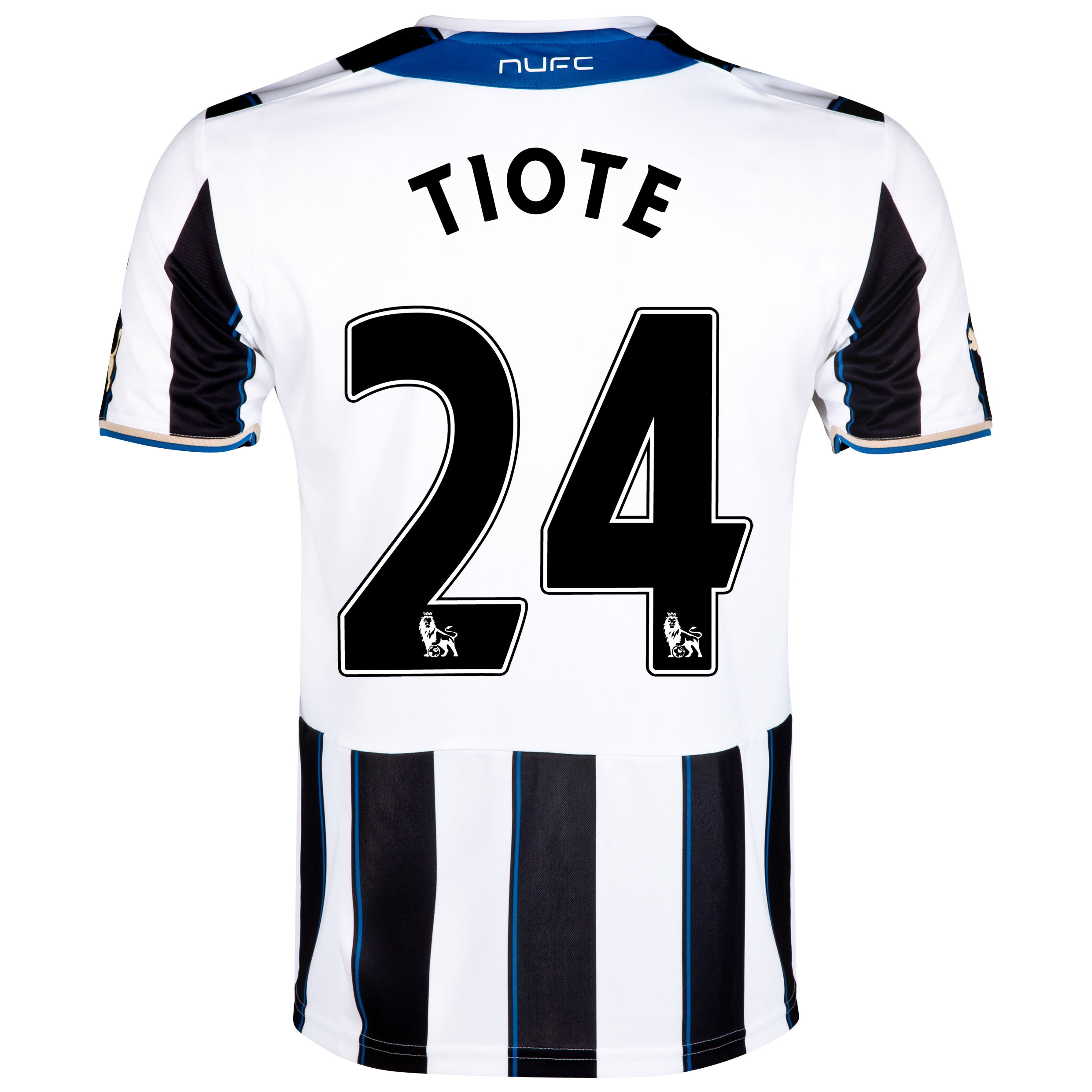 Newcastle United Home Shirt 2013/14 with Tiote 24 printing