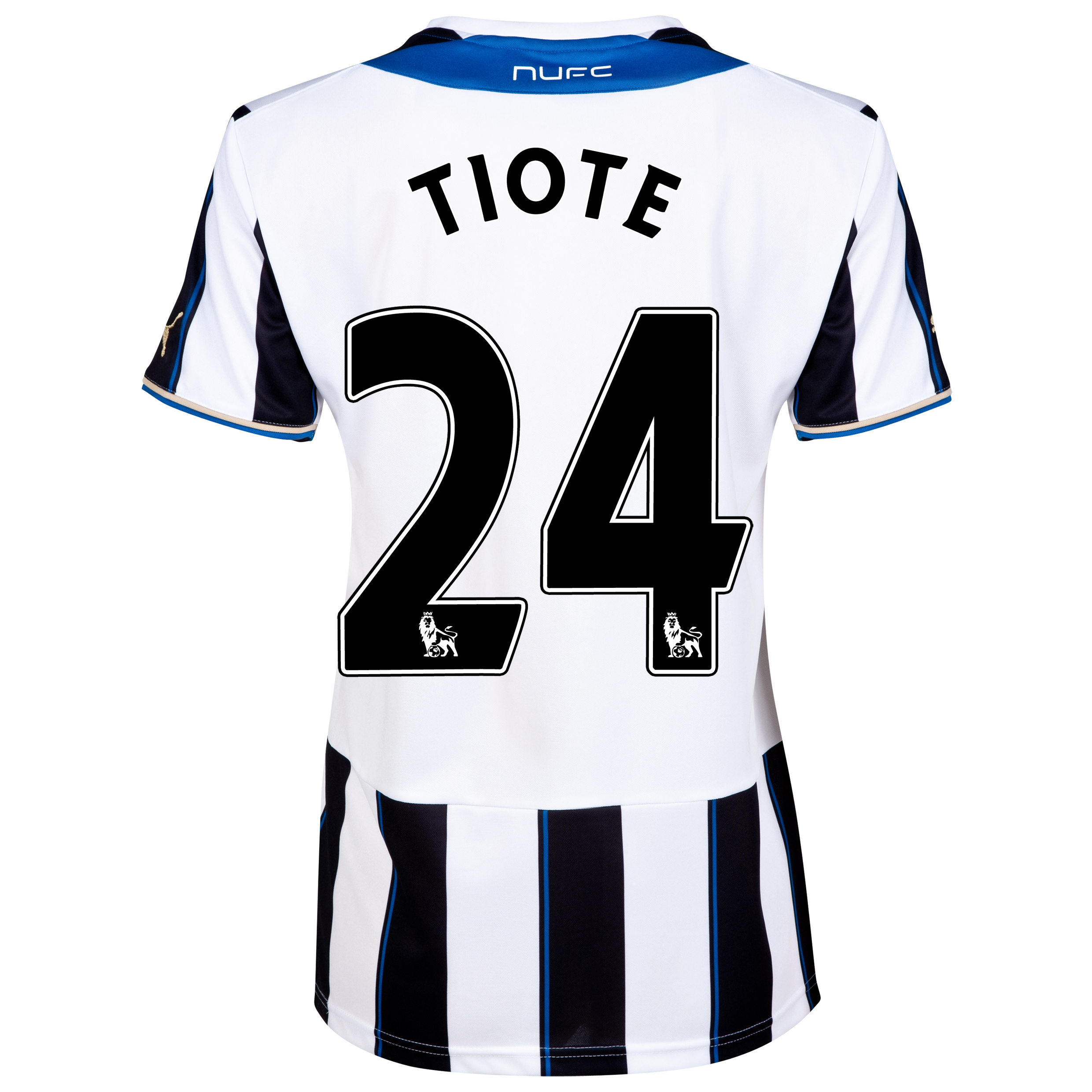 Newcastle United Home Shirt 2013/14- Womens with Tiote 24 printing