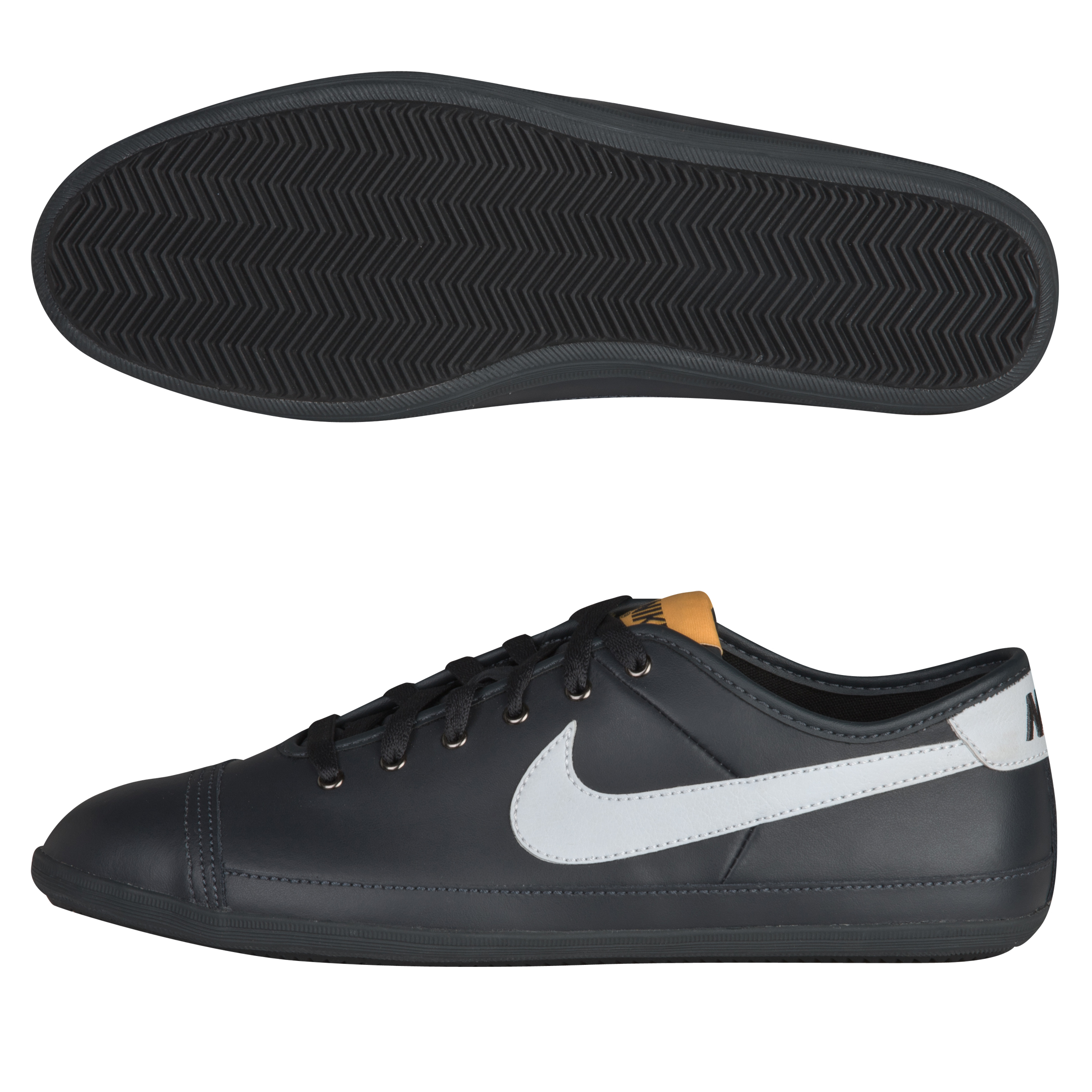Nike Flash Leather Trainers - Anthracite/Platinum