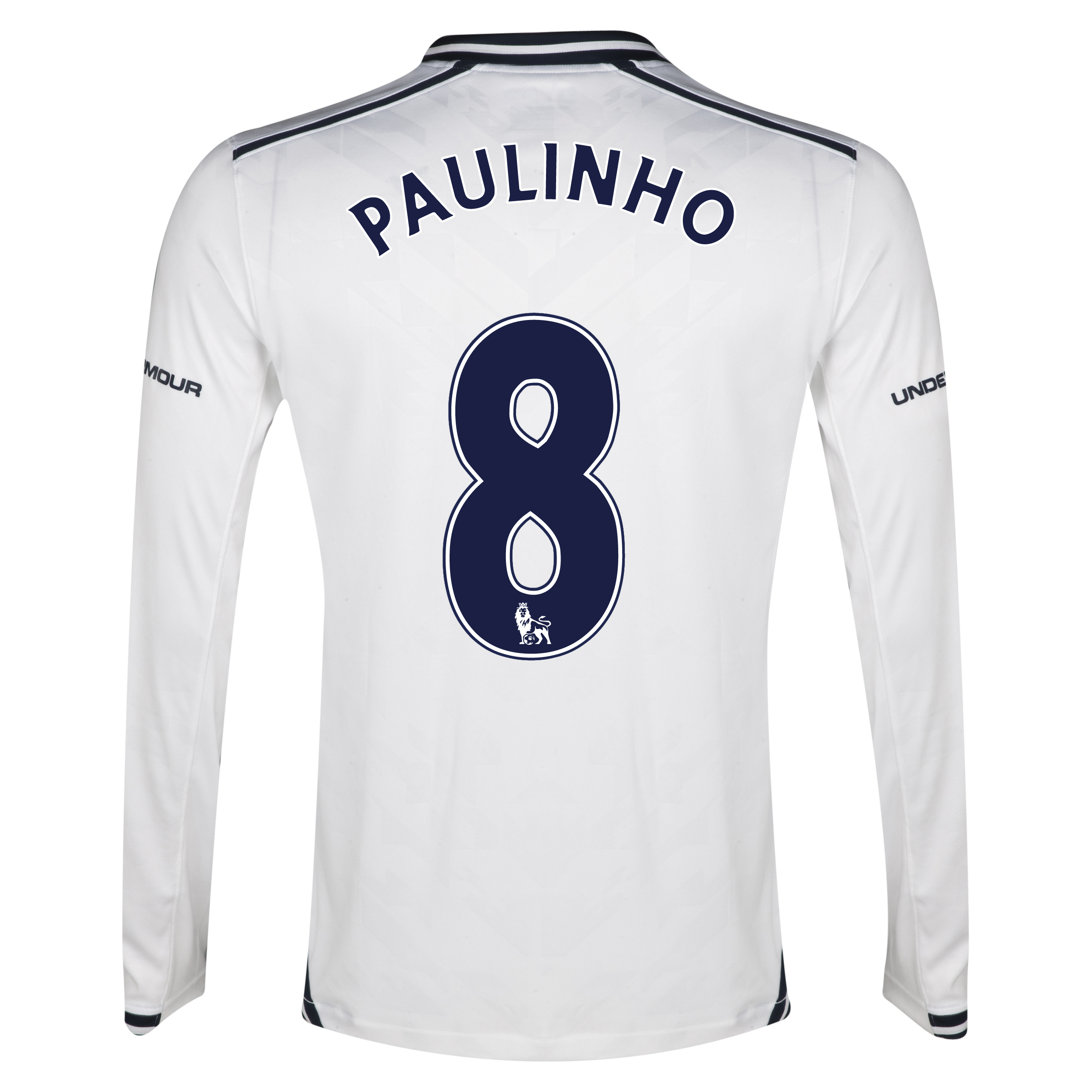 Tottenham Hotspur Home Shirt 2013/14 - Long Sleeve with Paulinho 8 printing