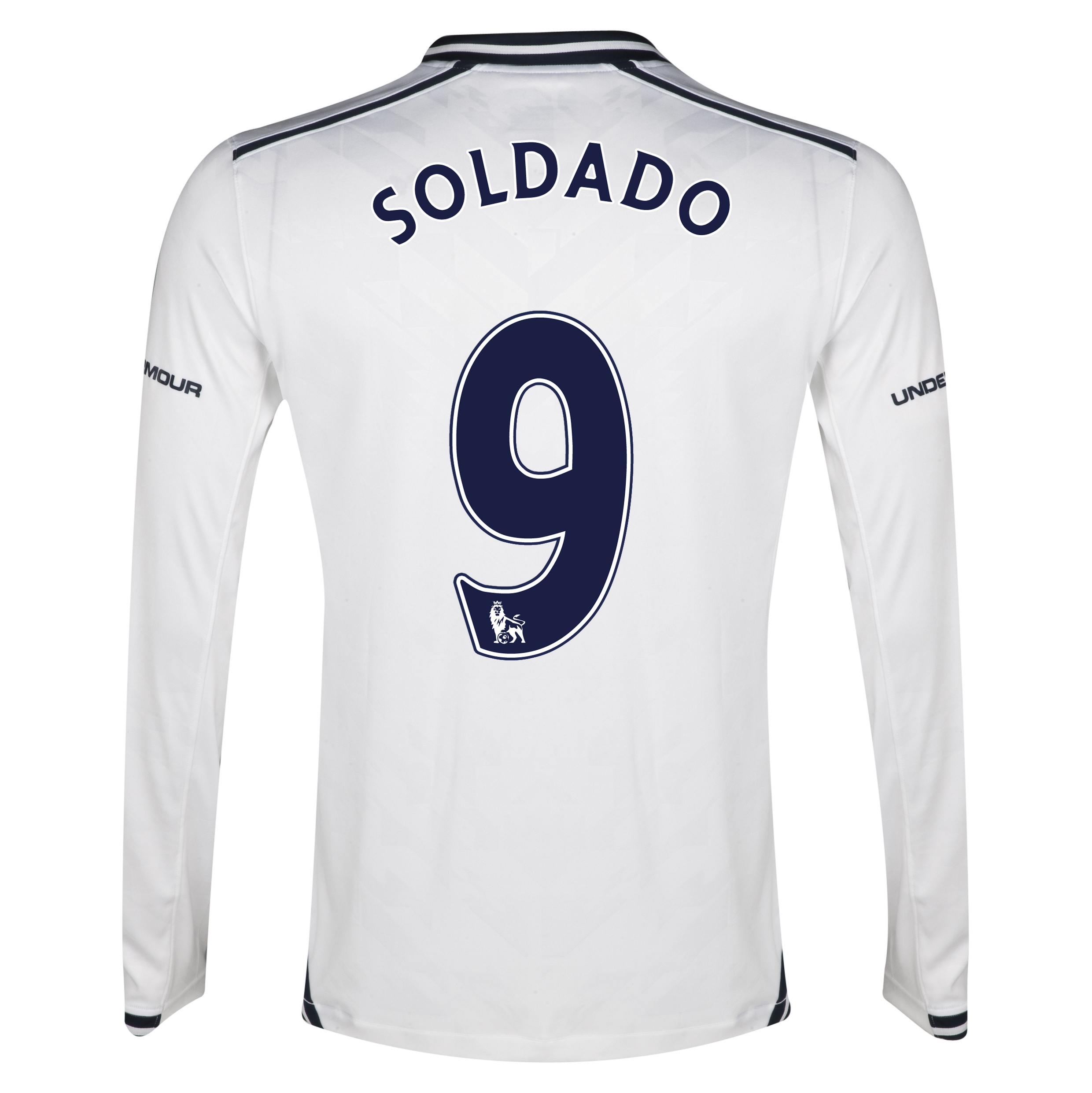 Tottenham Hotspur Home Shirt 2013/14 - Long Sleeve with Soldado 9 printing