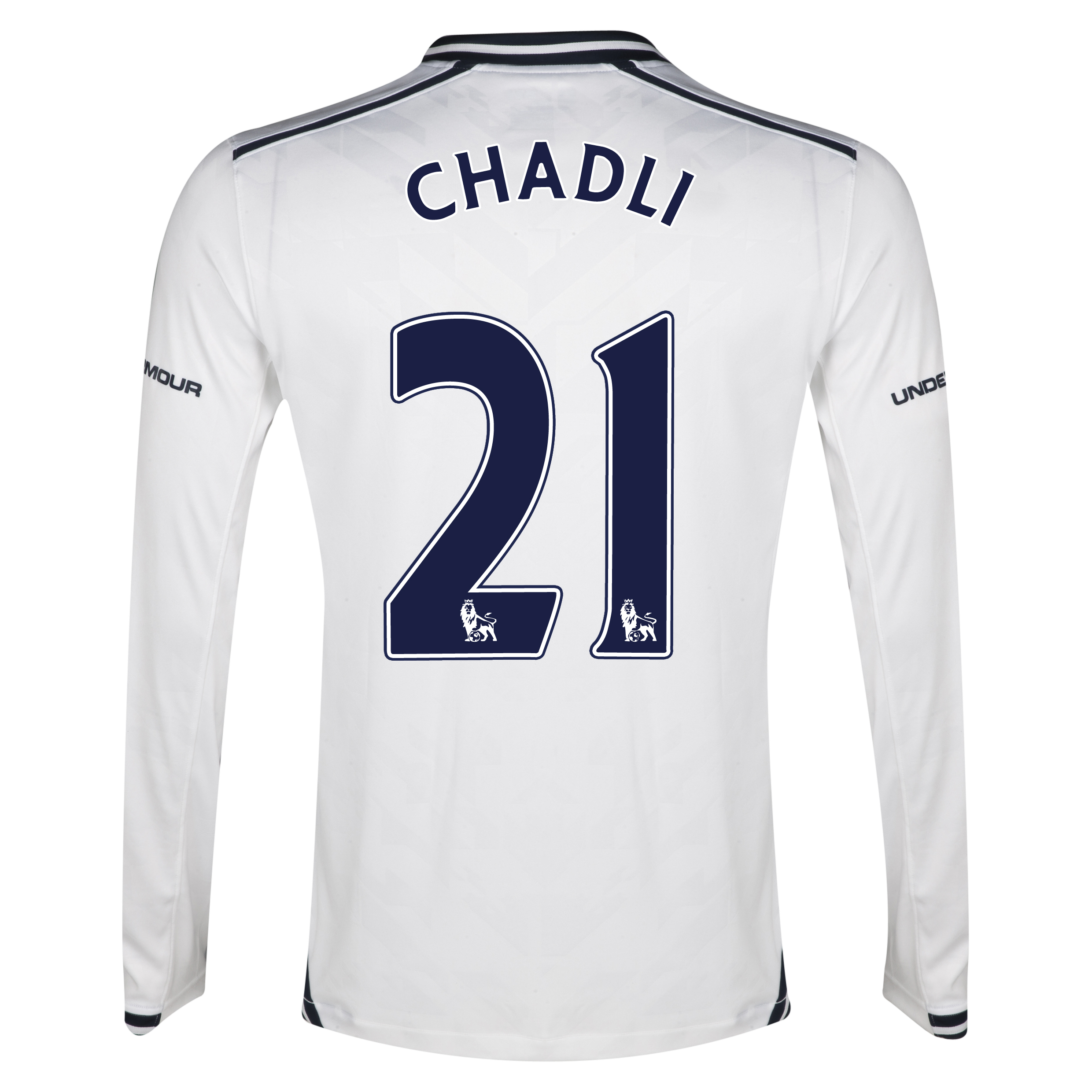 Tottenham Hotspur Home Shirt 2013/14 - Long Sleeve with Chadli 21 printing