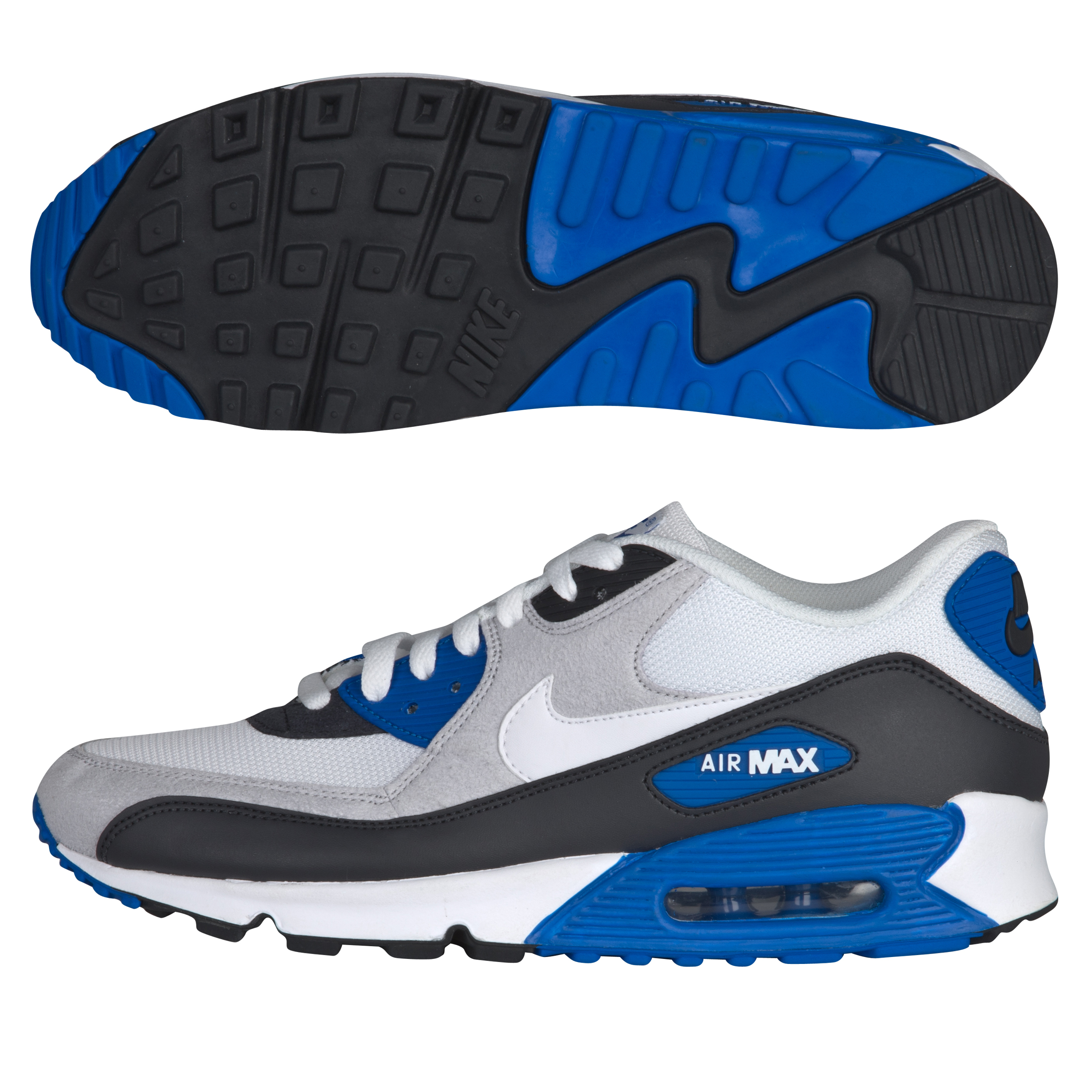 Nike Air Max 90 Trainers - Anthracite/White/Obsidian