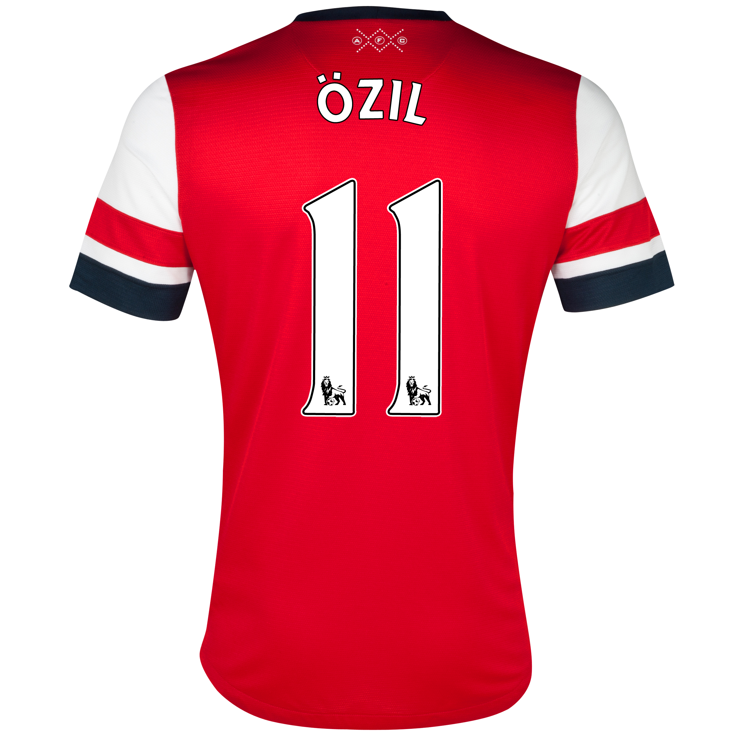 Arsenal Home Shirt 2012/14 with Özil 11 printing