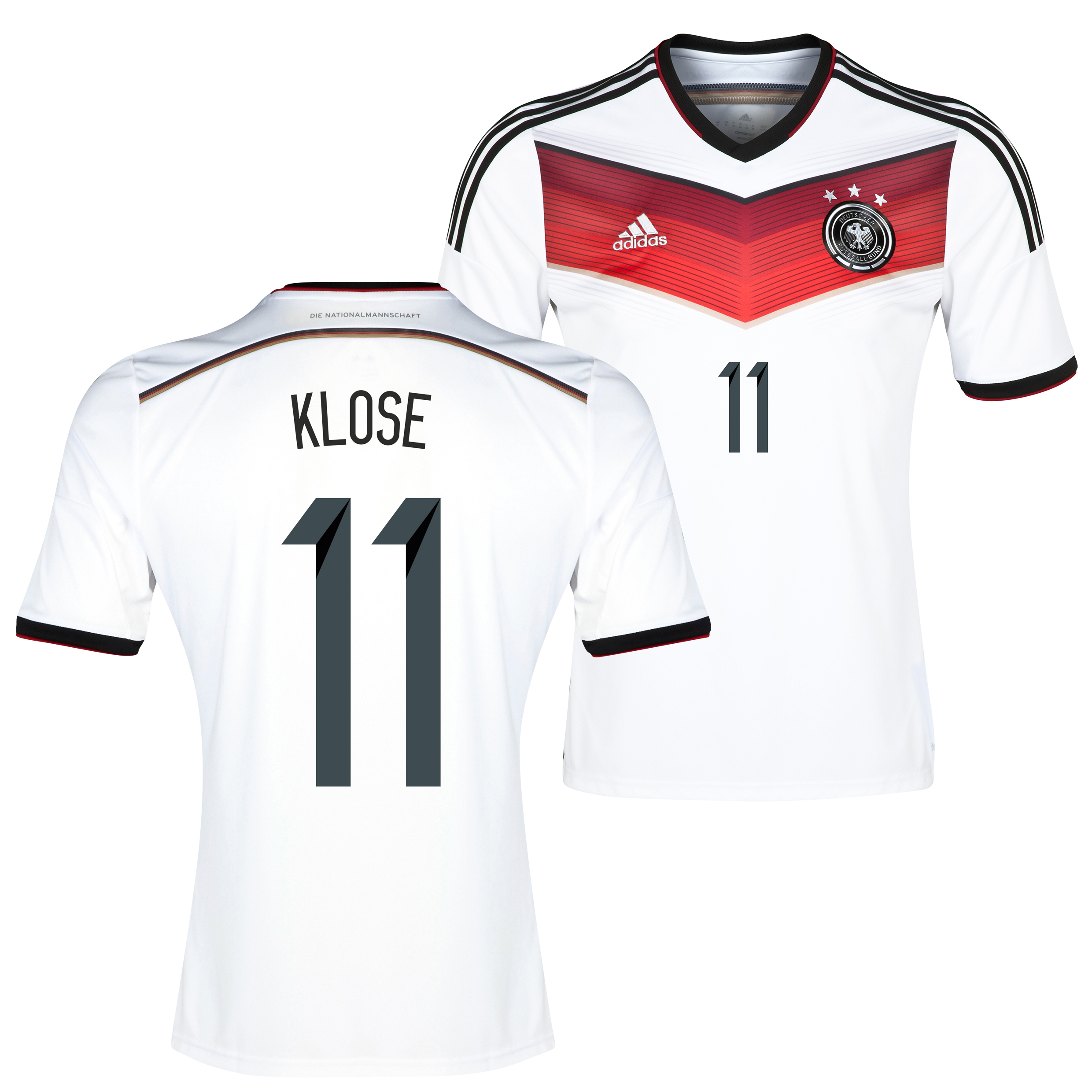 Germany Home Shirt 2013/15 with Klose 11 printing
