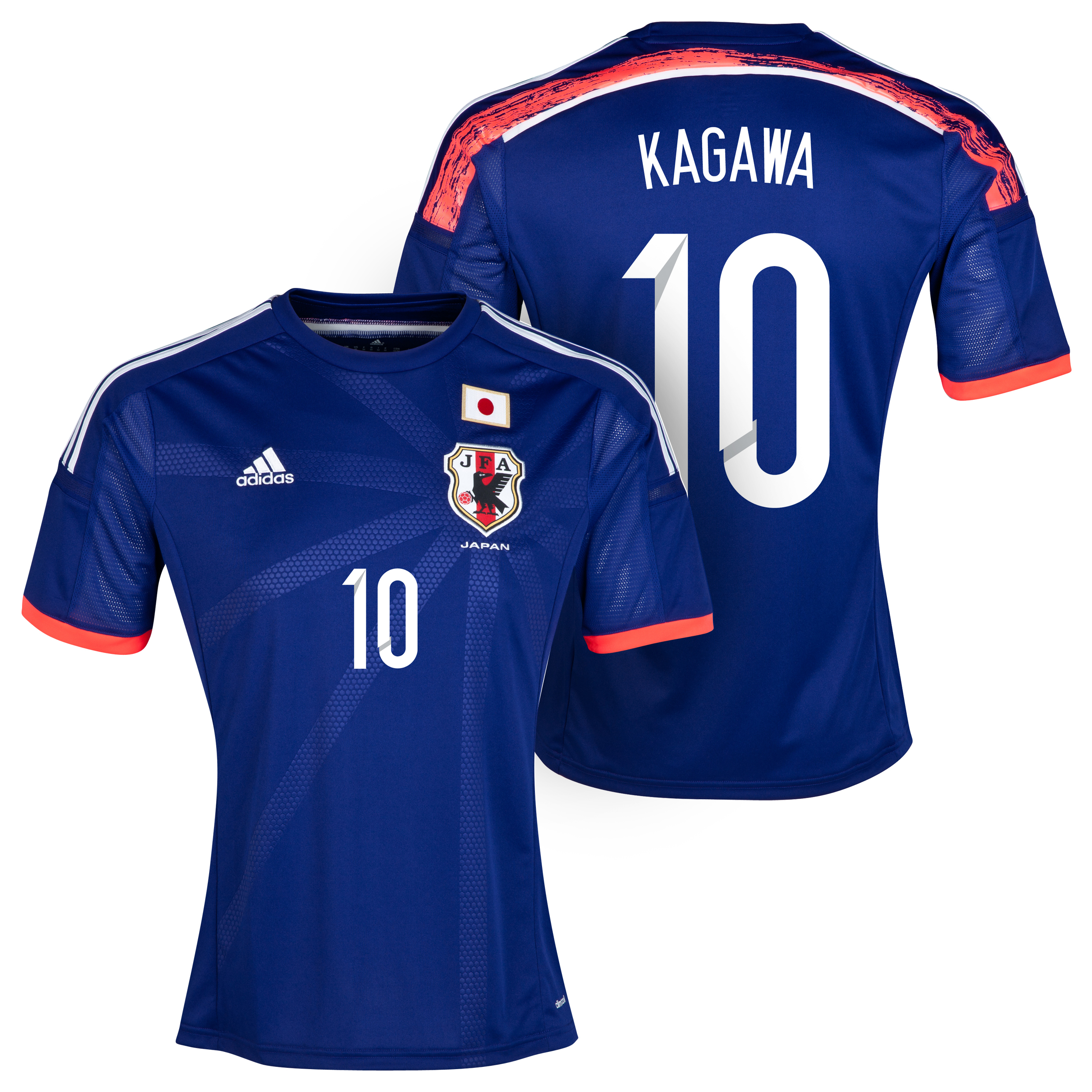 Japan Home Shirt 2013/15 with Kagawa 10 printing