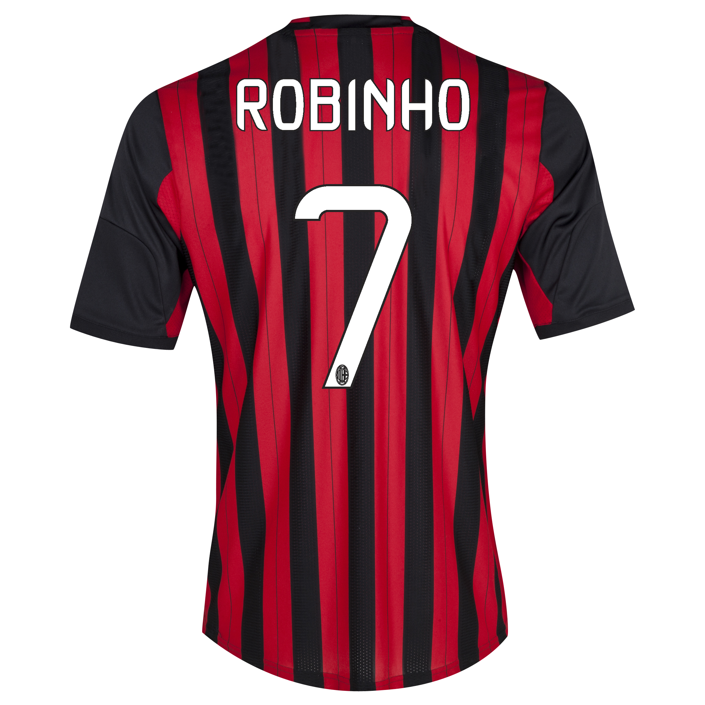 AC Milan Home Shirt 2013/14 with Robinho 7 printing