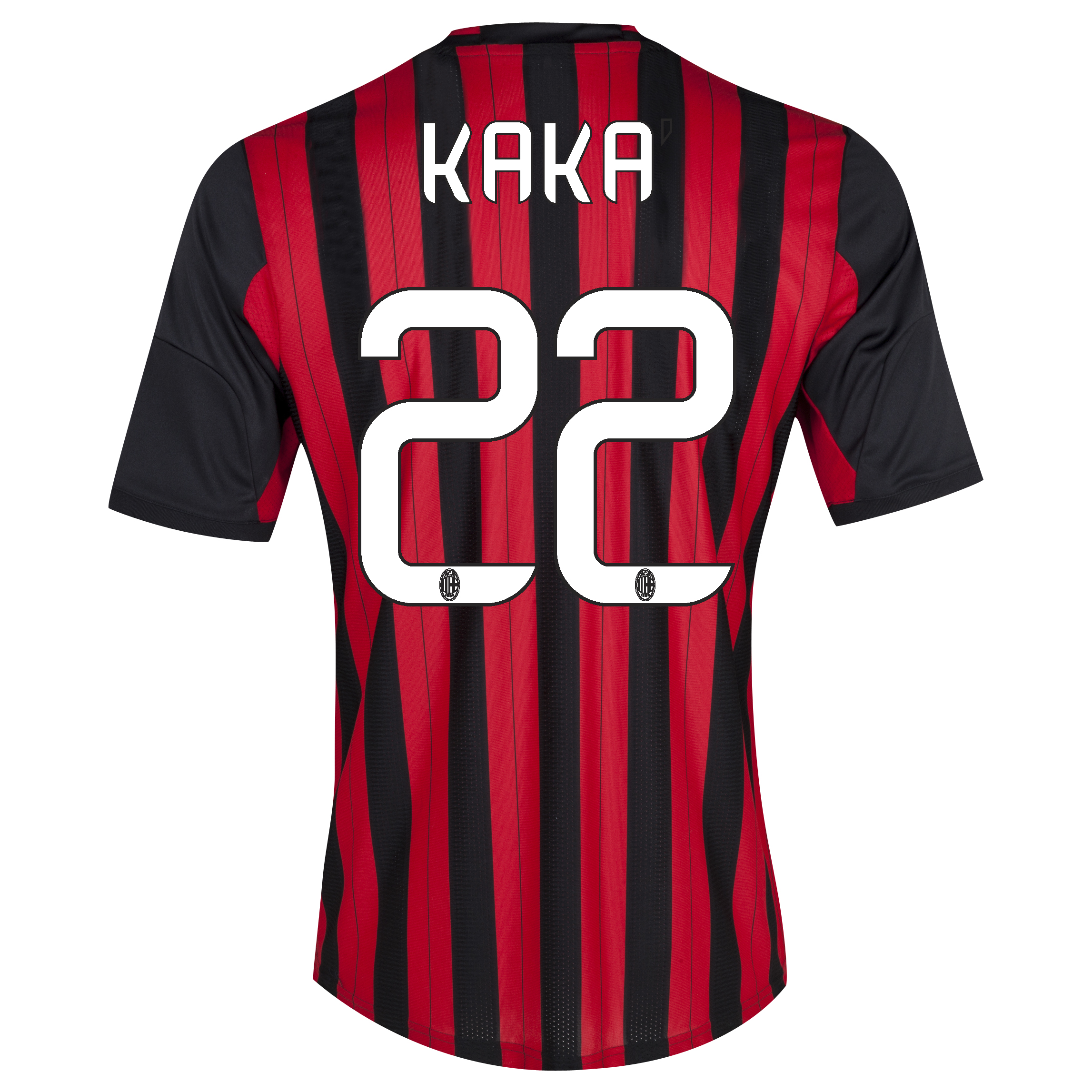 AC Milan Home Shirt 2013/14 with Kaká 22 printing