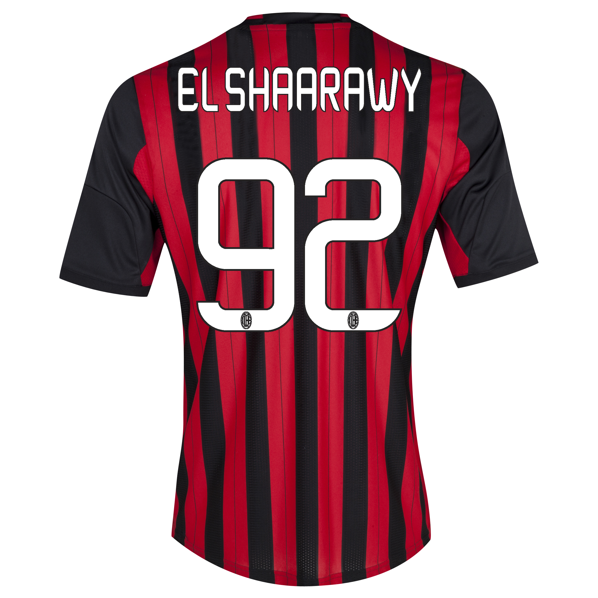 AC Milan Home Shirt 2013/14 with El Shaarawy 92 printing