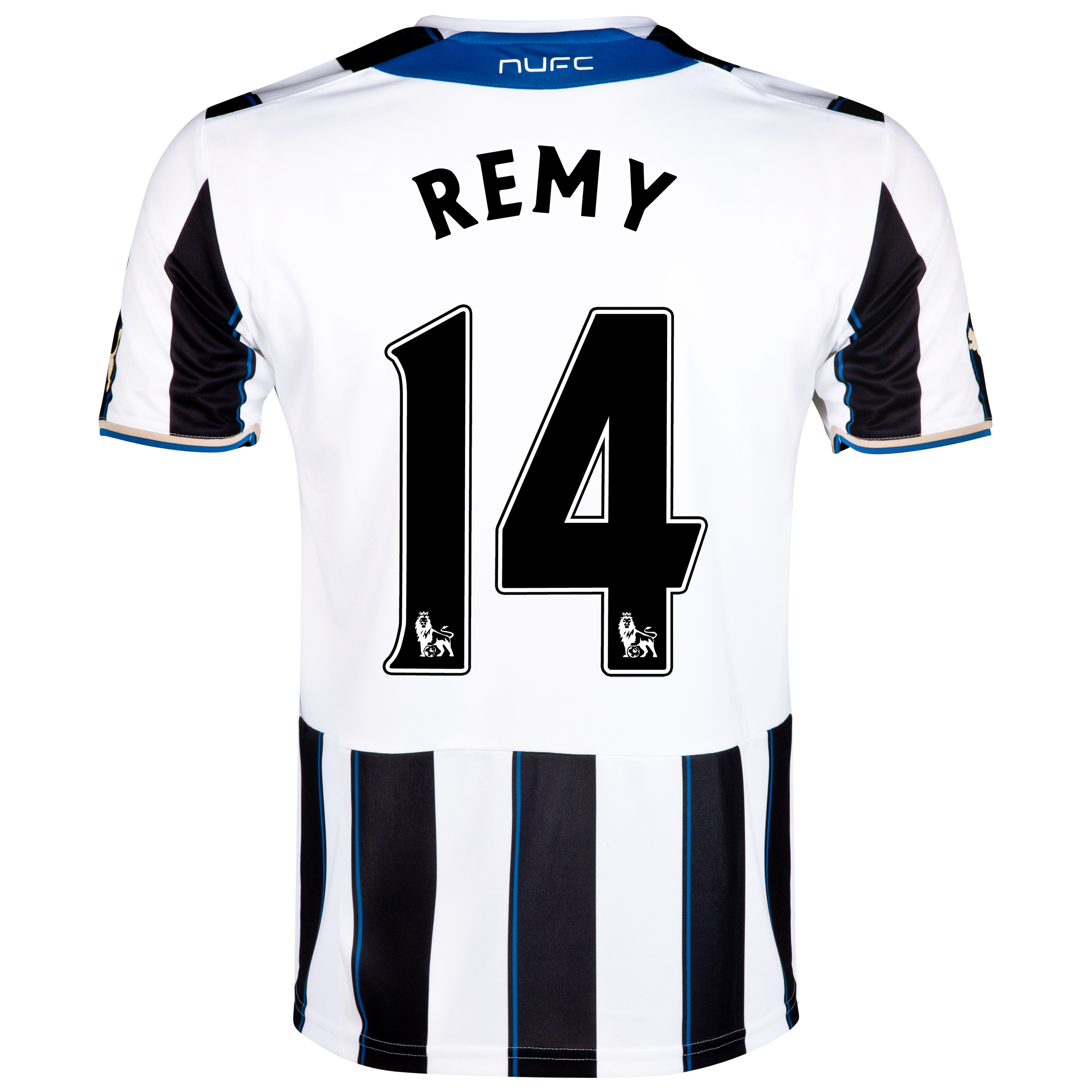 Newcastle United Home Shirt 2013/14 - Kids with Remy 14 printing