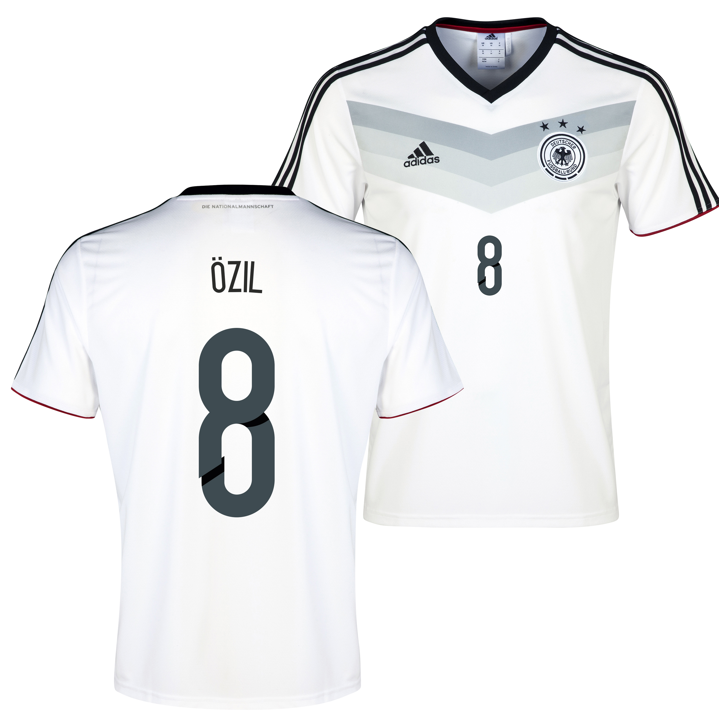 Germany Home Replica T-shirt with Ozil 8 printing