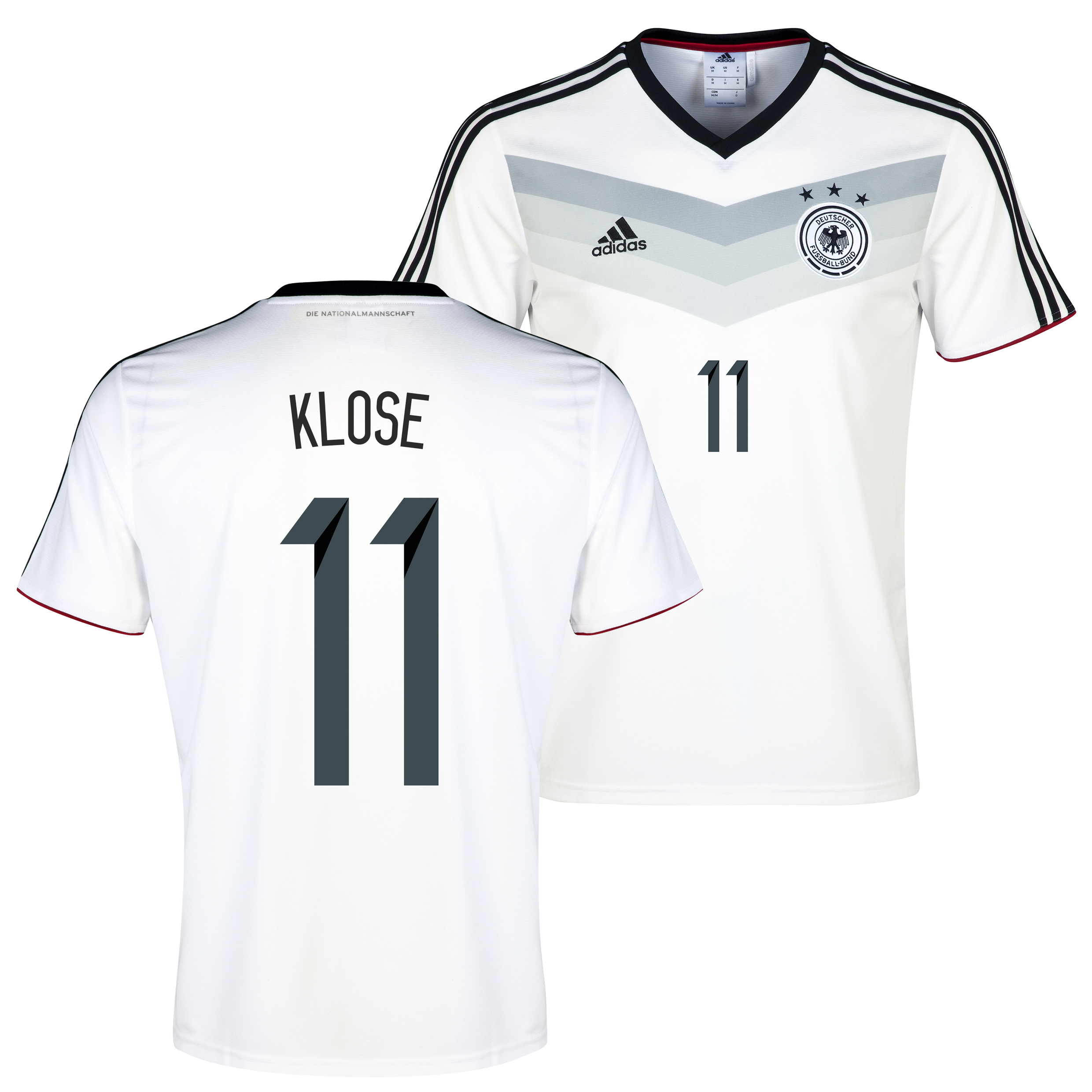 Germany Home Replica T-shirt with Klose 11 printing