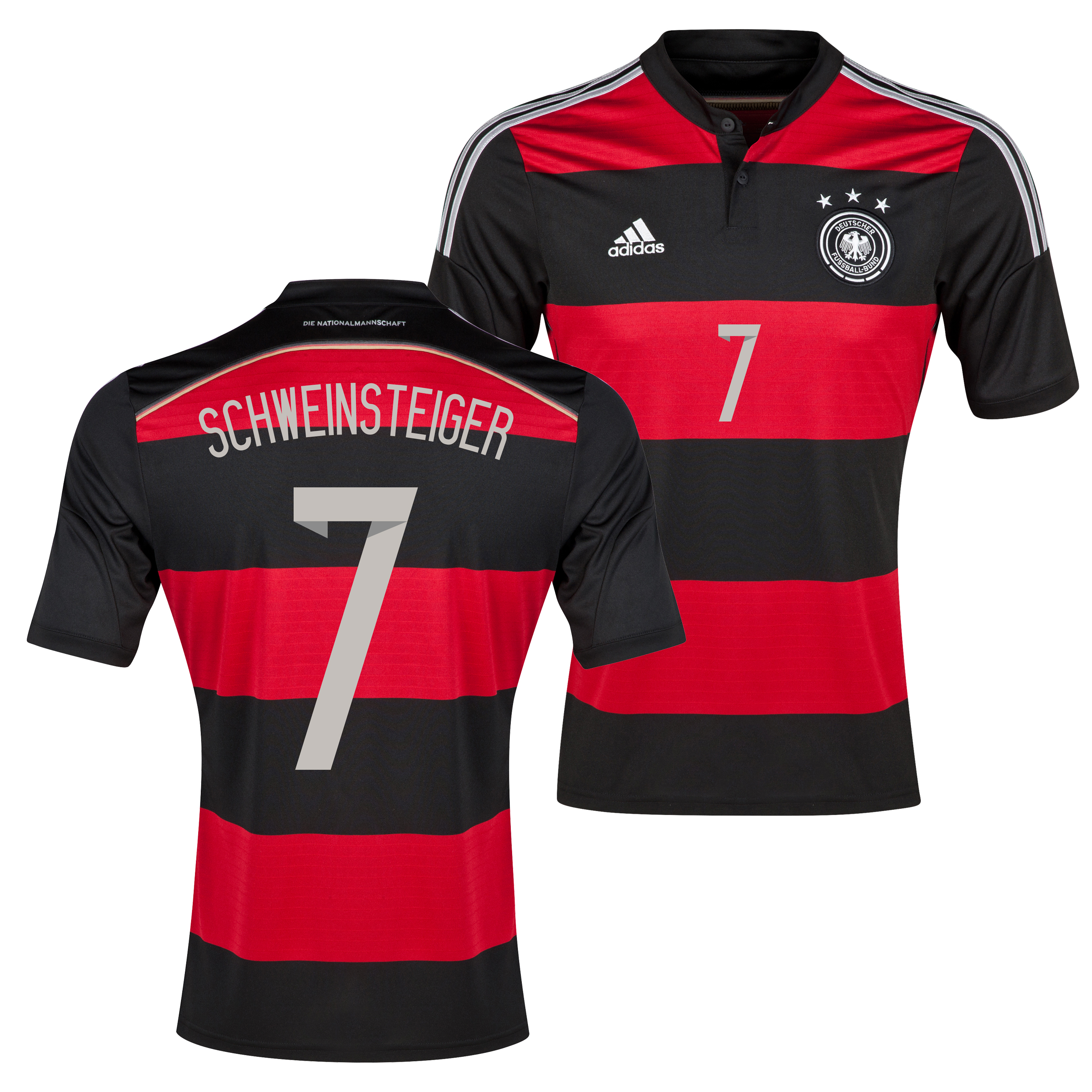 Germany Away Shirt 2013/15 with Schweinsteiger 7 printing