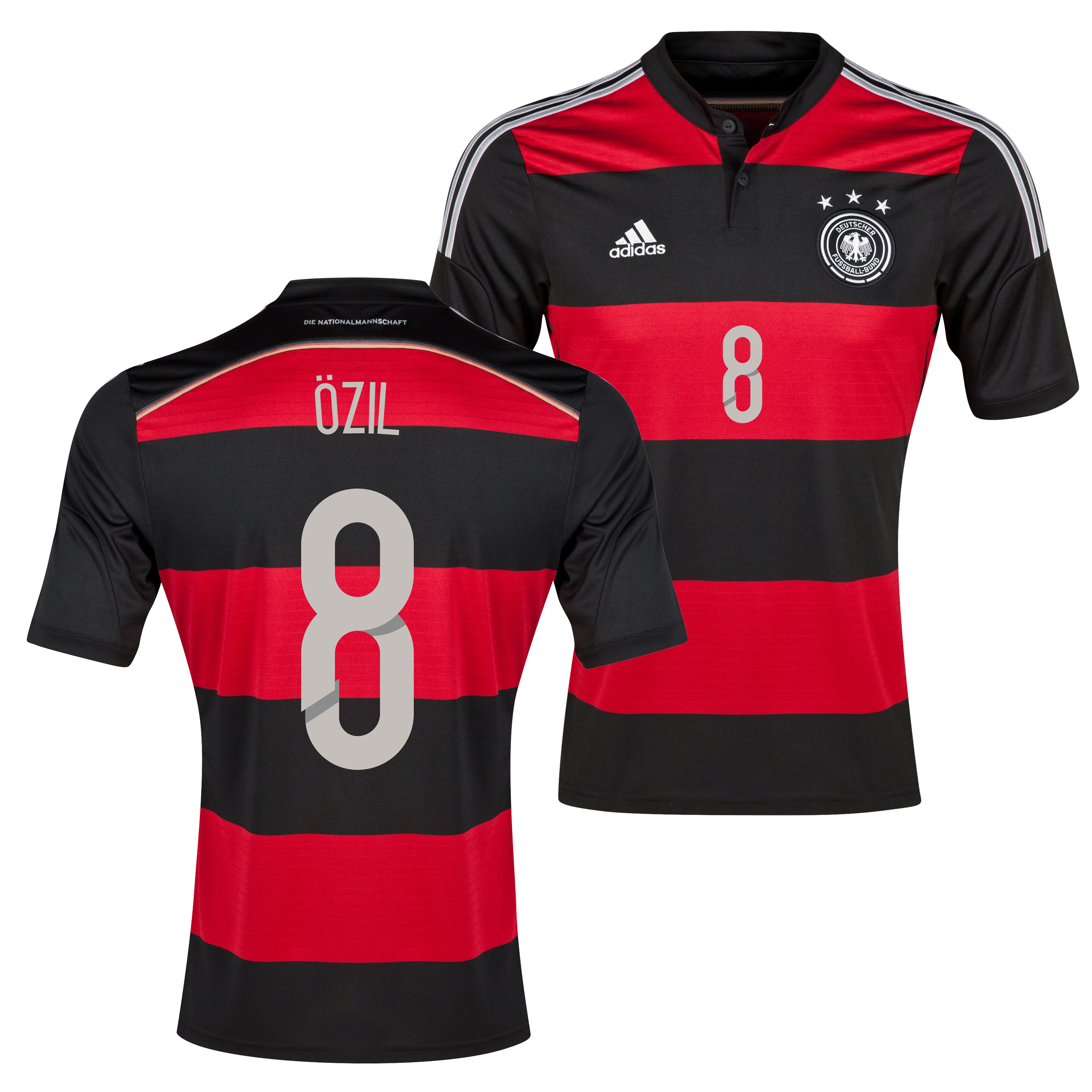 Germany Away Shirt 2013/15 with Ozil 8 printing