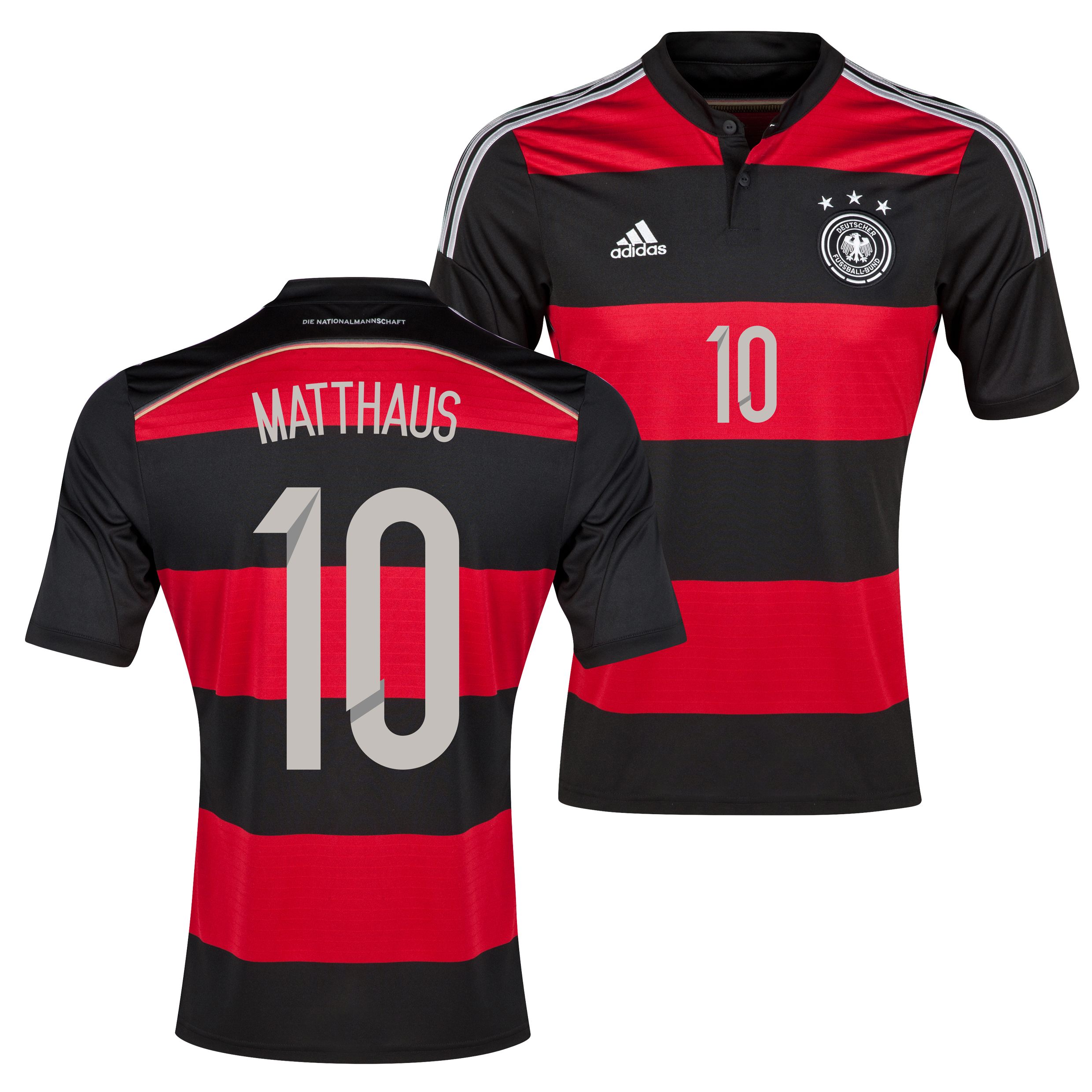 Germany Away Shirt 2013/15 with Matthaus 10 printing