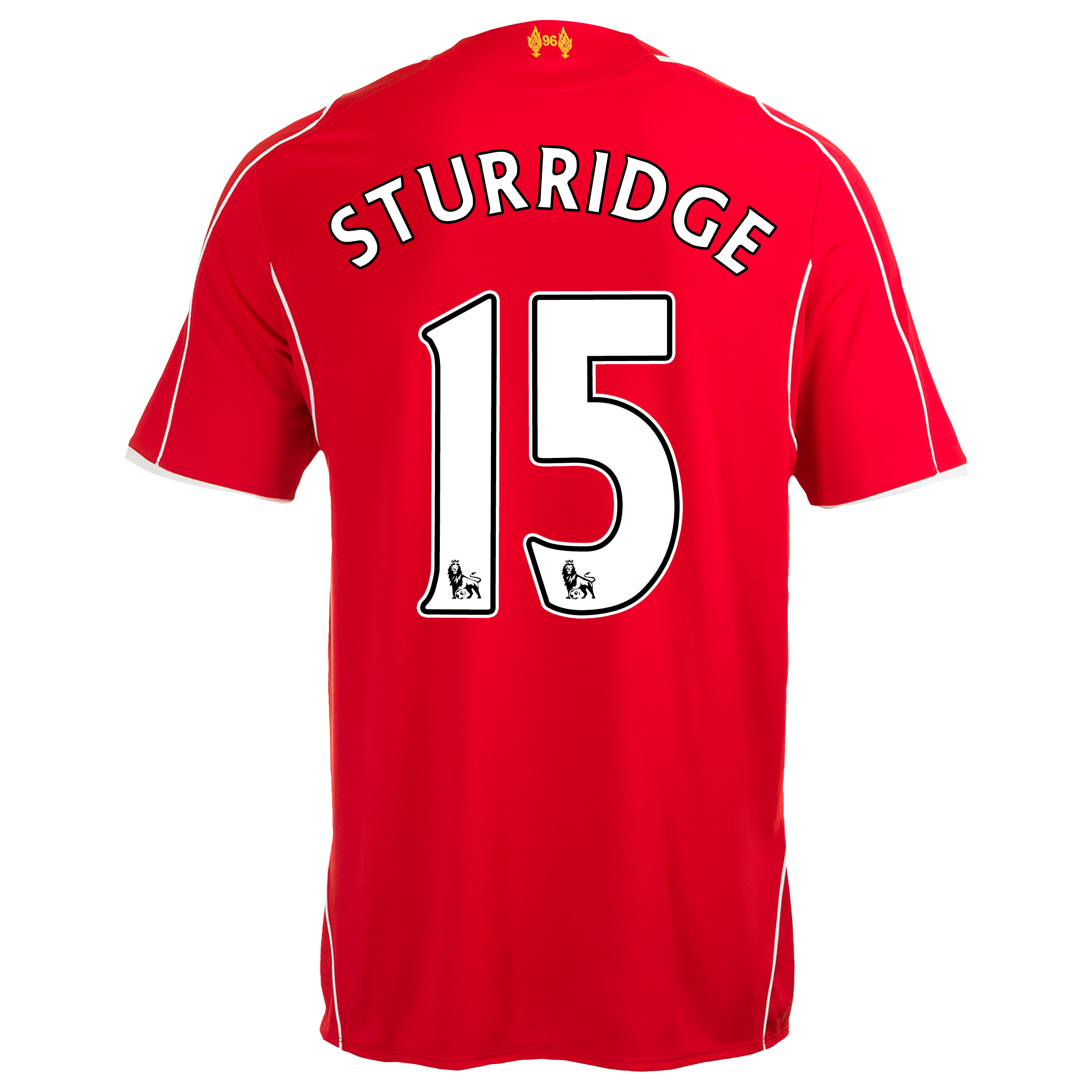 Liverpool Home Shirt 2014/15 Red with Sturridge 15 printing