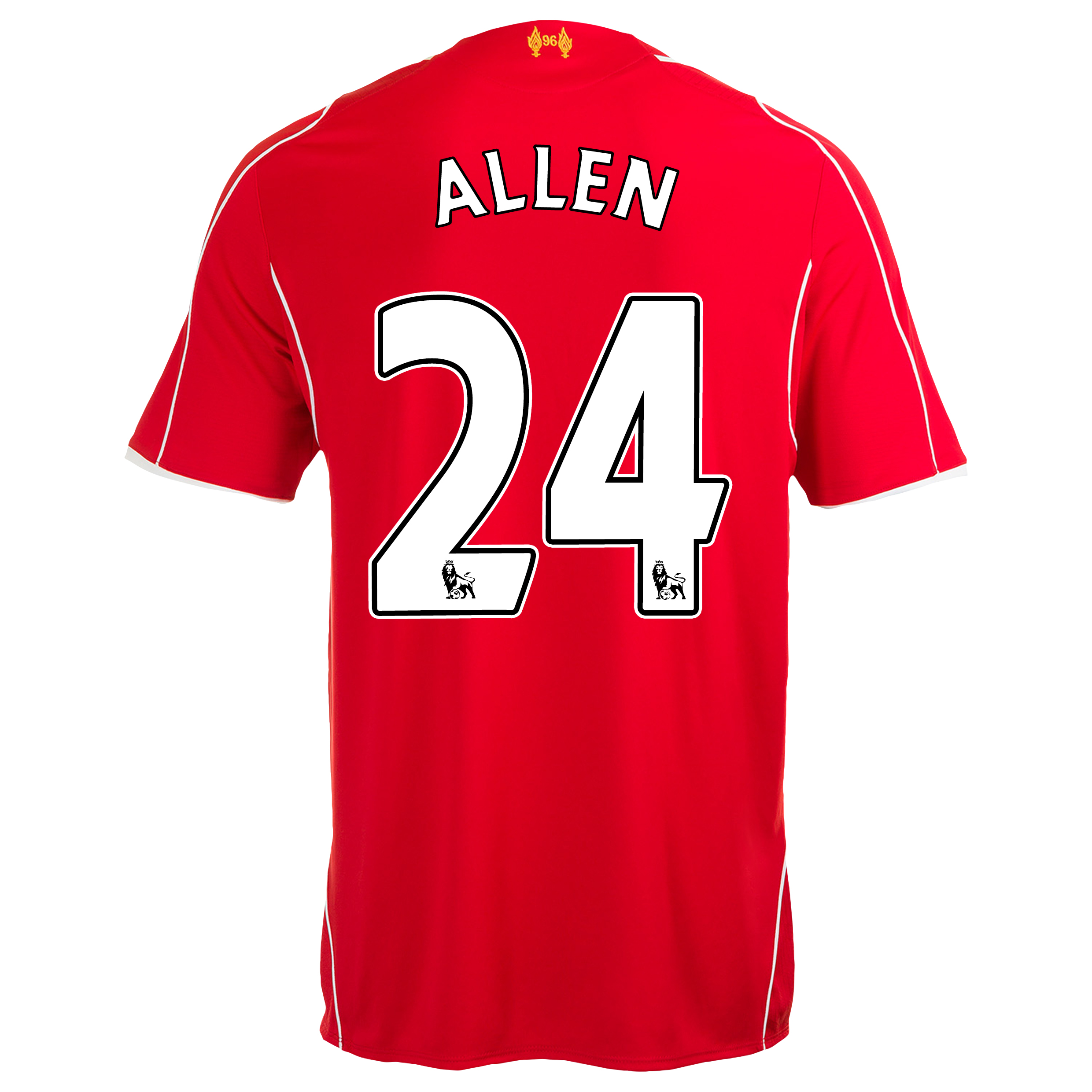 Liverpool Home Infant Kit 2014/15 Red with Allen 24 printing