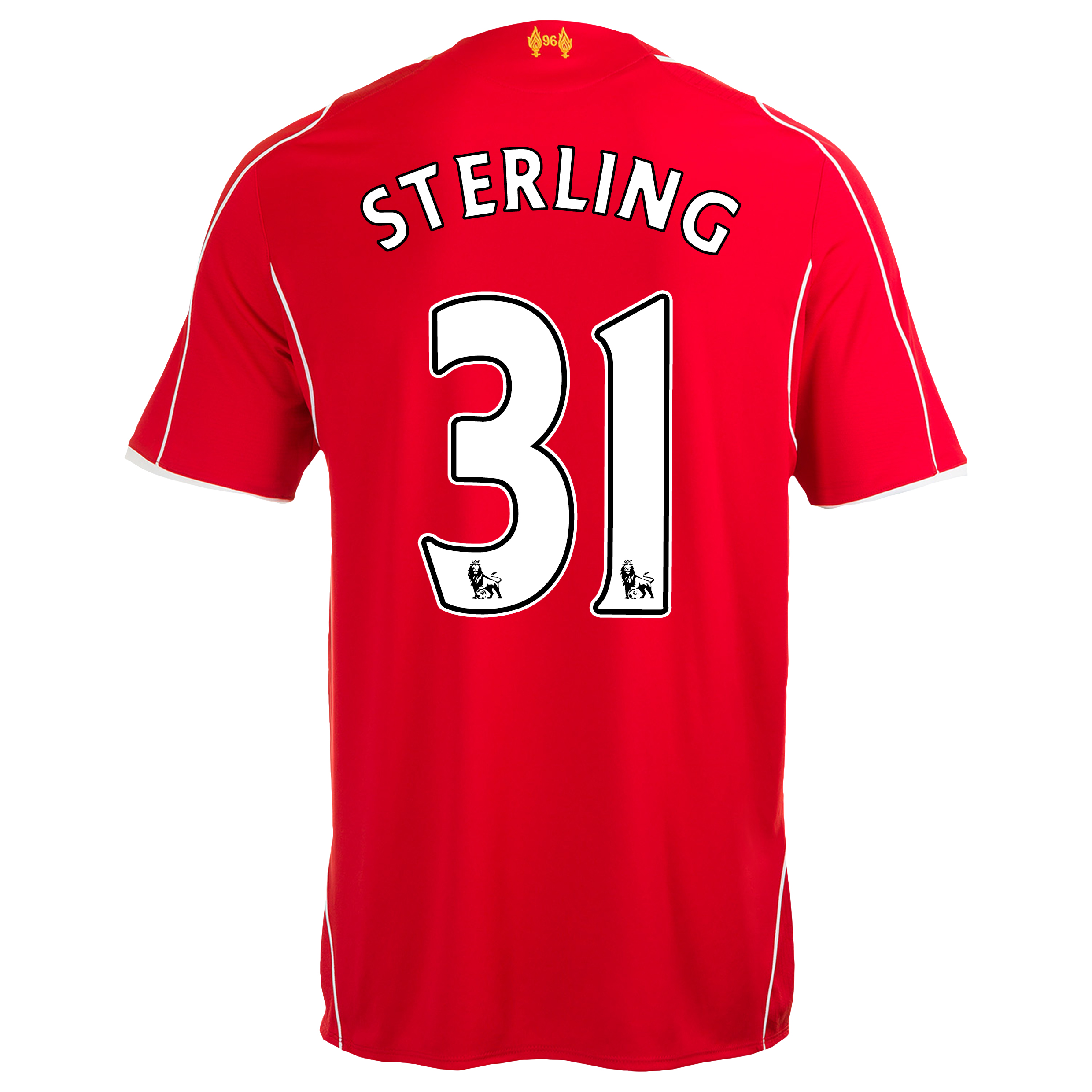 Liverpool Home Infant Kit 2014/15 Red with Sterling 31 printing