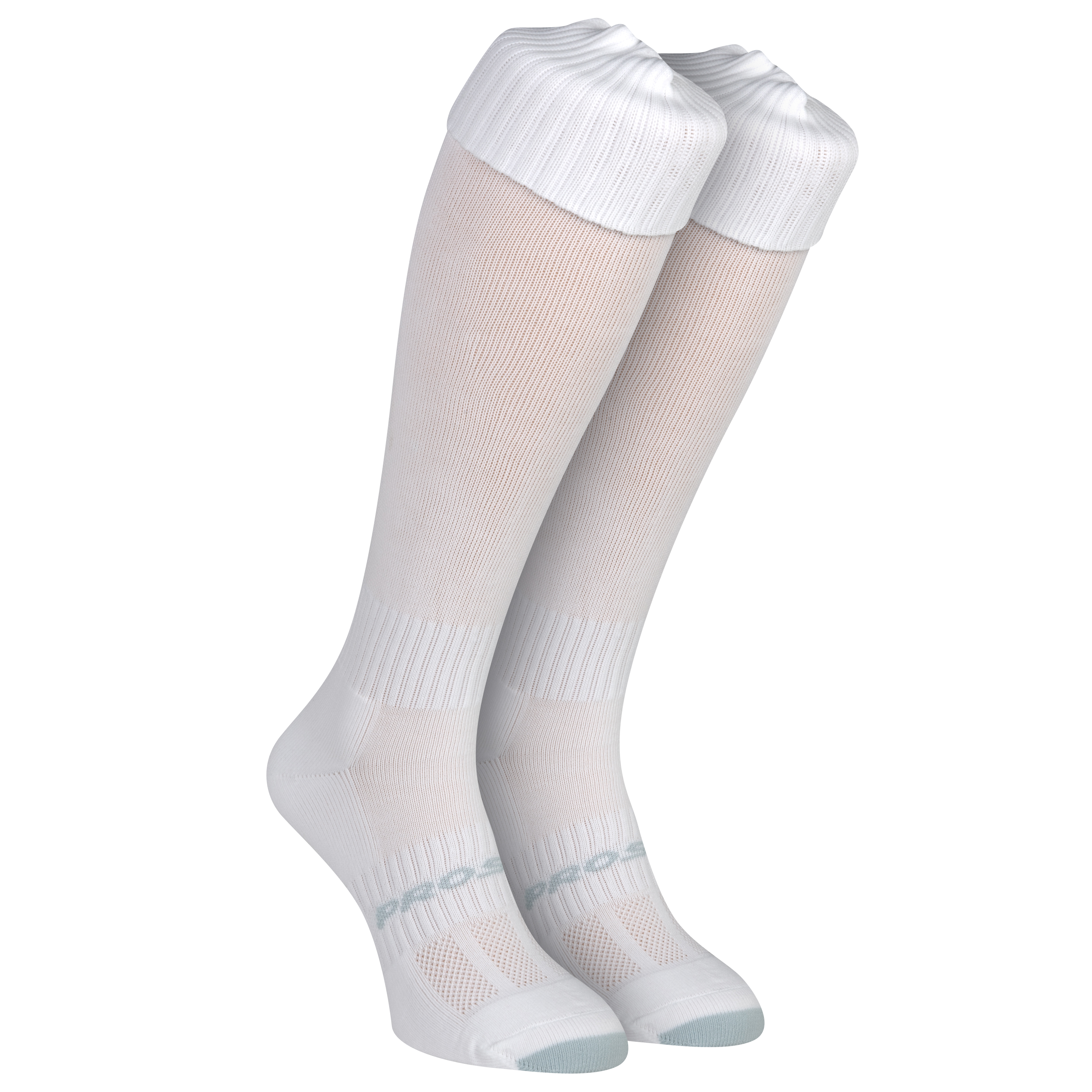 Mitre Mercury Football Socks - White - Size 7-11