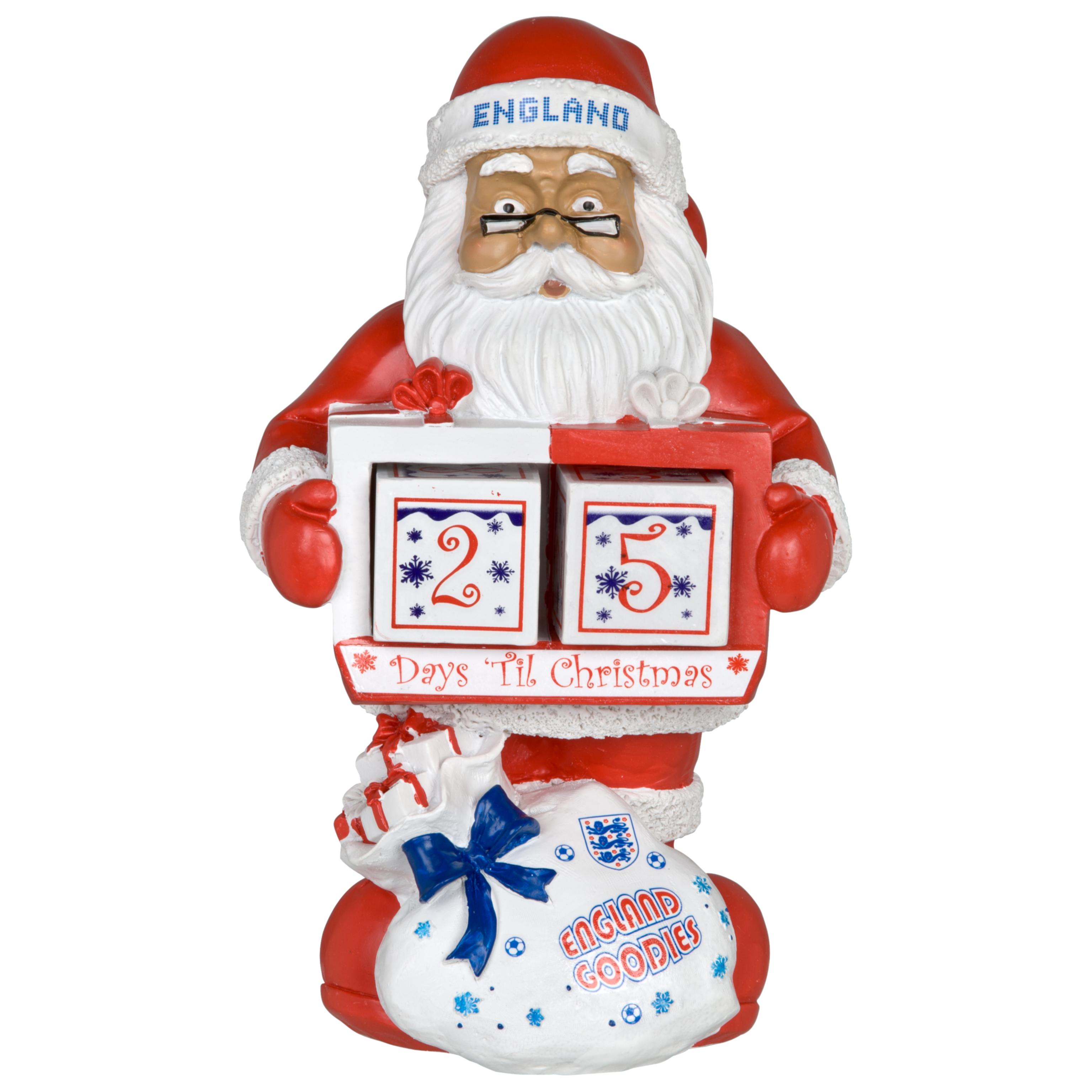 England FA Christmas Countdown Calendar Gnome