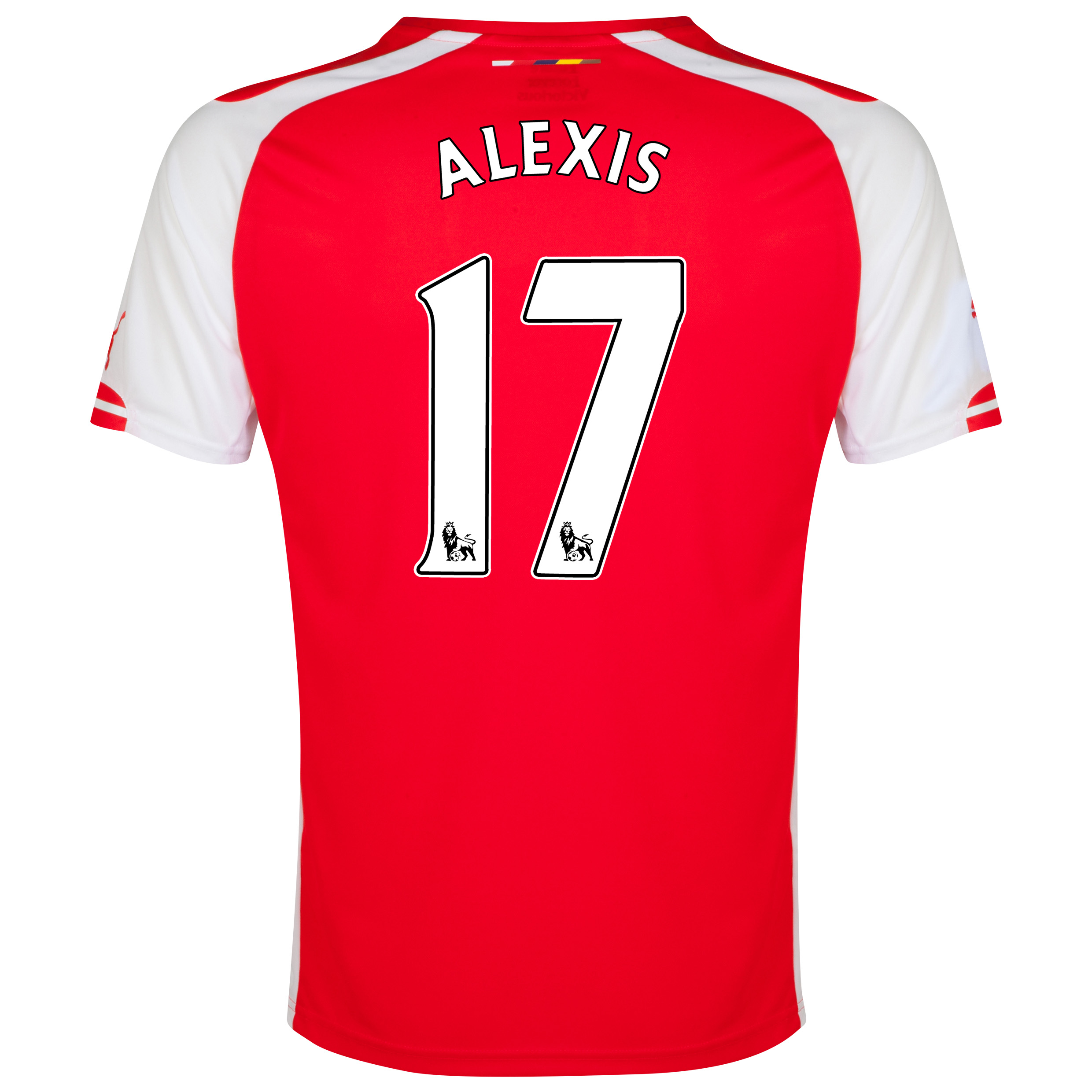 Arsenal Home Shirt 2014/15 Red with Alexis 17 printing