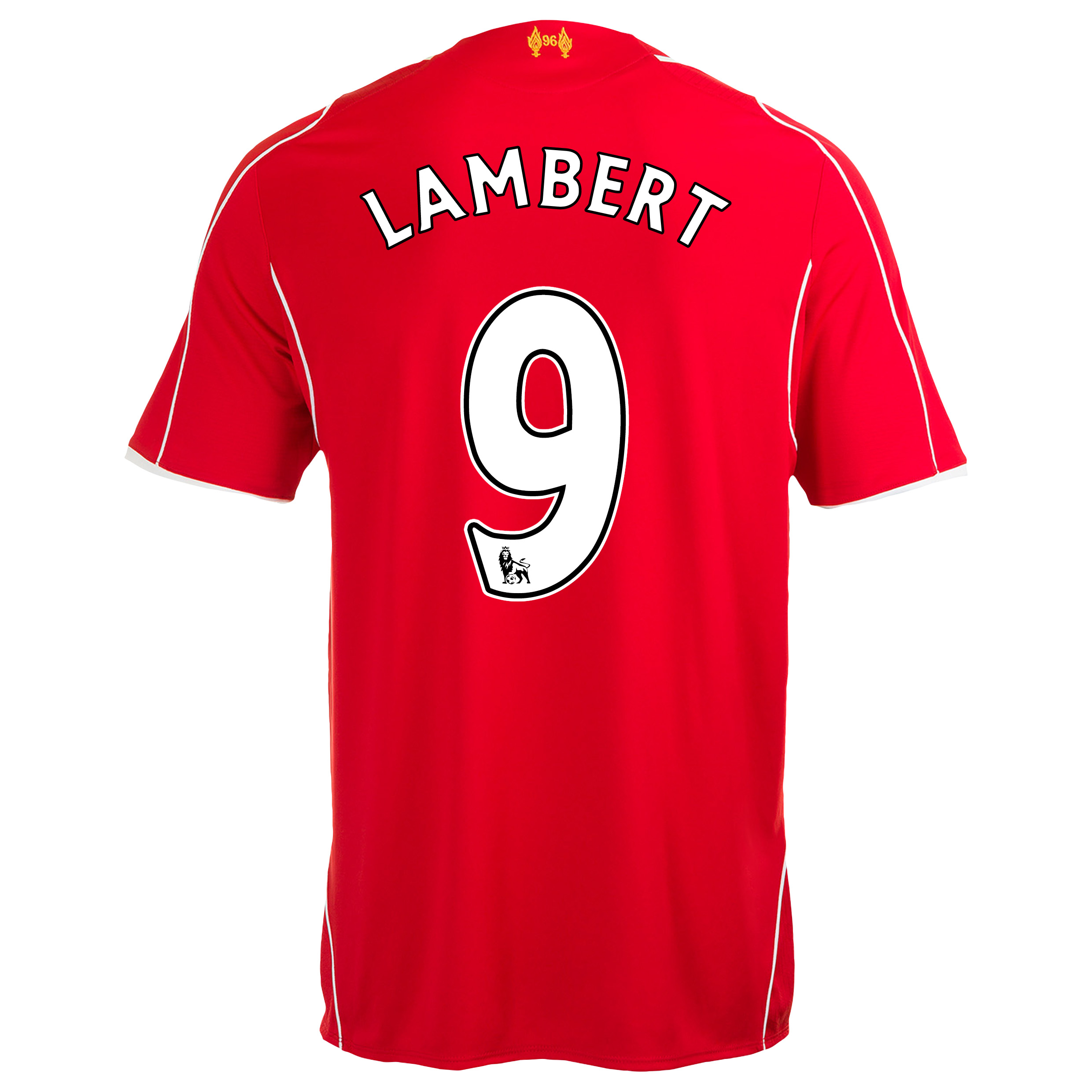 Liverpool Home Shirt 2014/15 with Lambert 9 printing