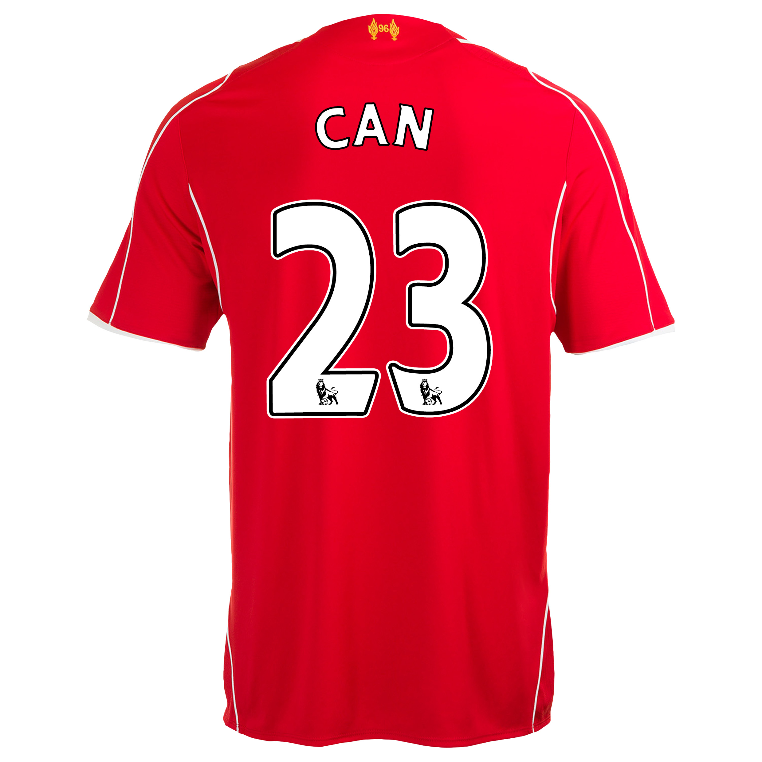 Liverpool Home Shirt 2014/15 with Can 23 printing
