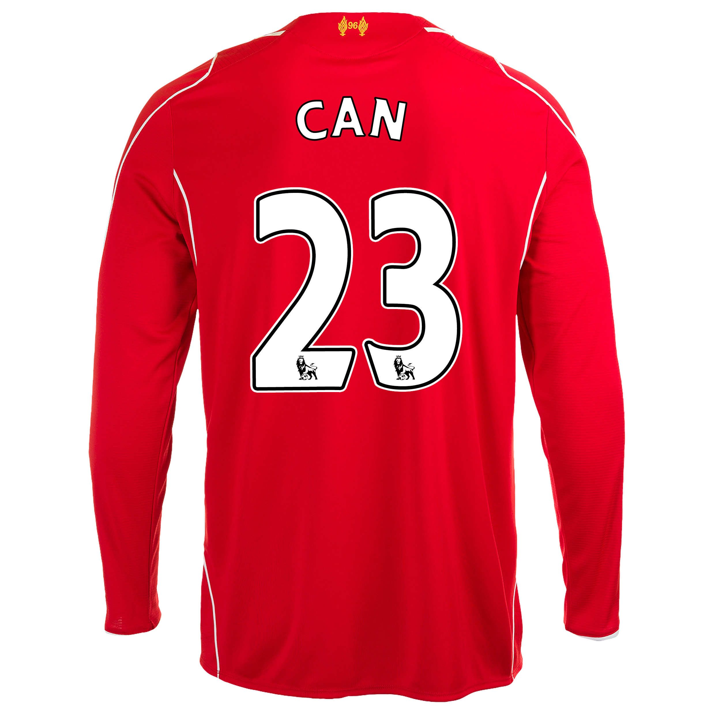 Liverpool Home Shirt 2014/15 Long Sleeve with Can 23 printing