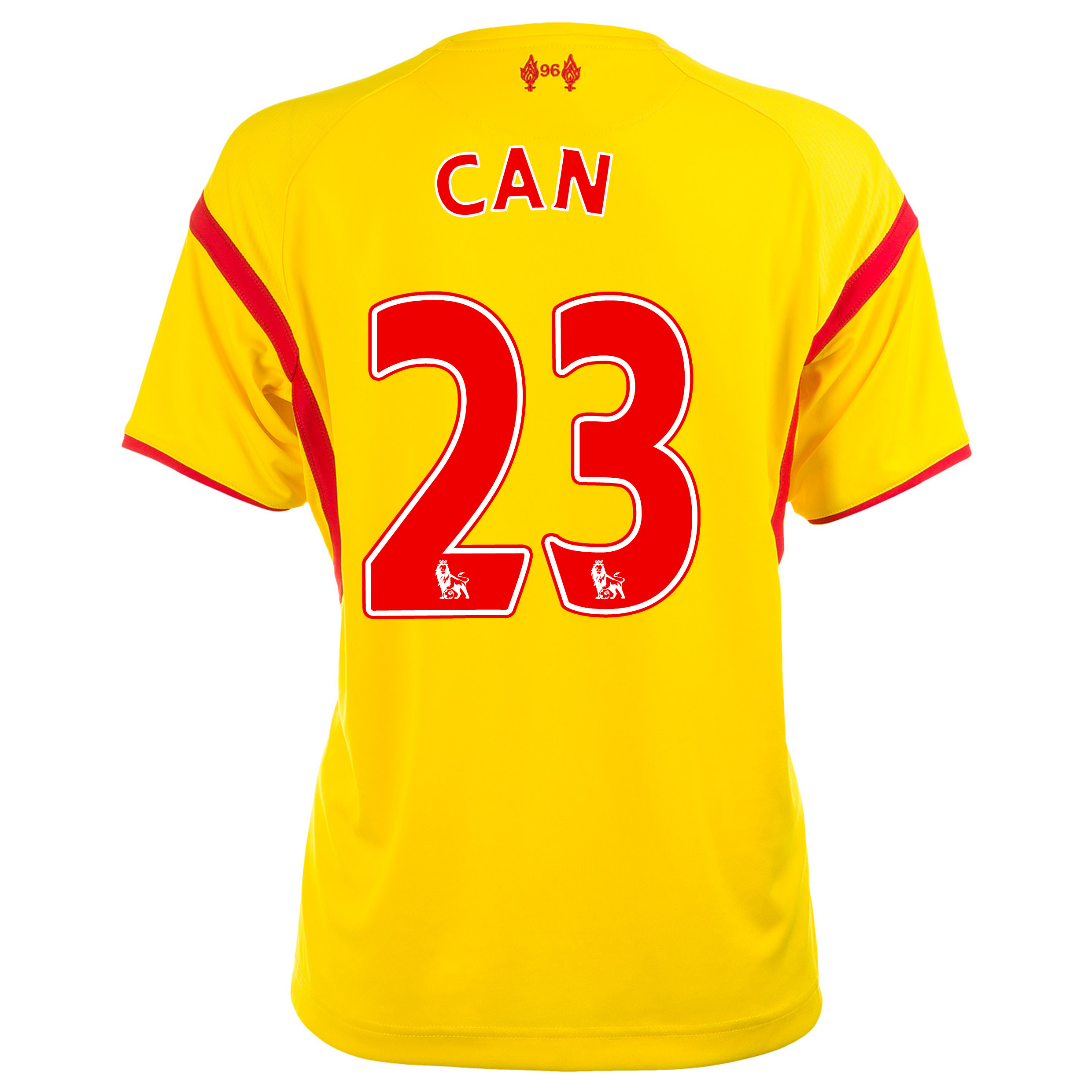 Liverpool Away Shirt 2014/15 Womens with Can 23 printing