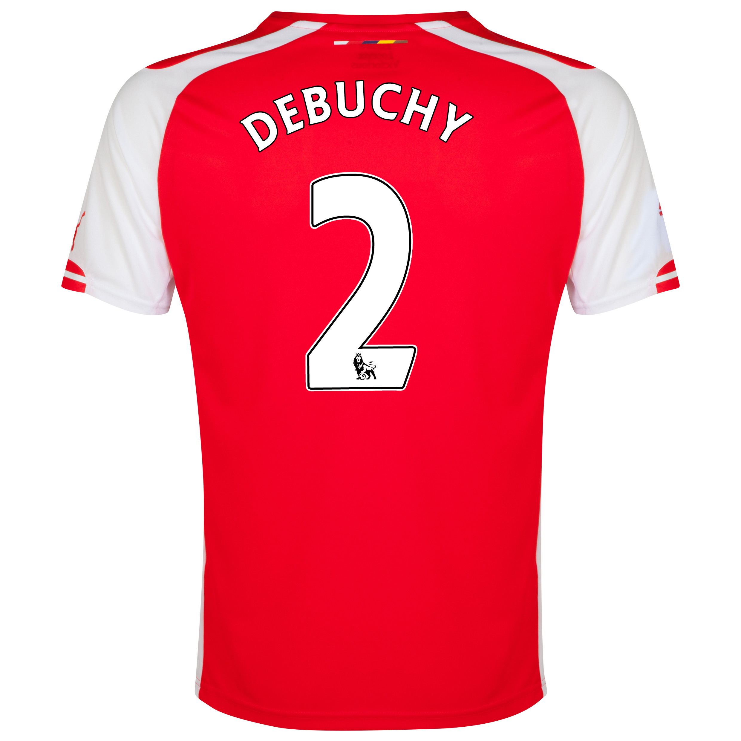 Arsenal Home Shirt 2014/15 with Debuchy 2 printing