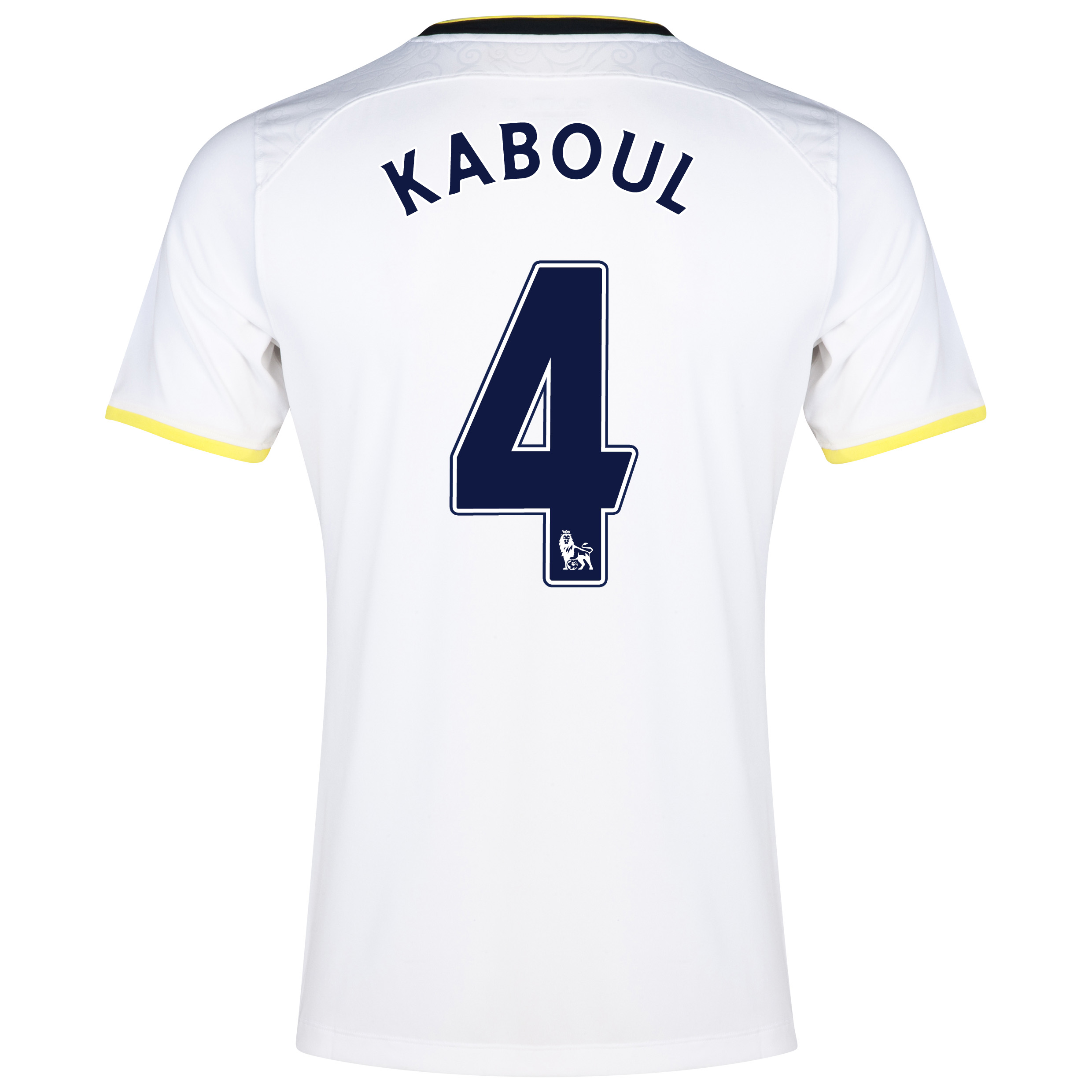 Tottenham Hotspur Home Shirt 2014/15 with Kaboul 4 printing