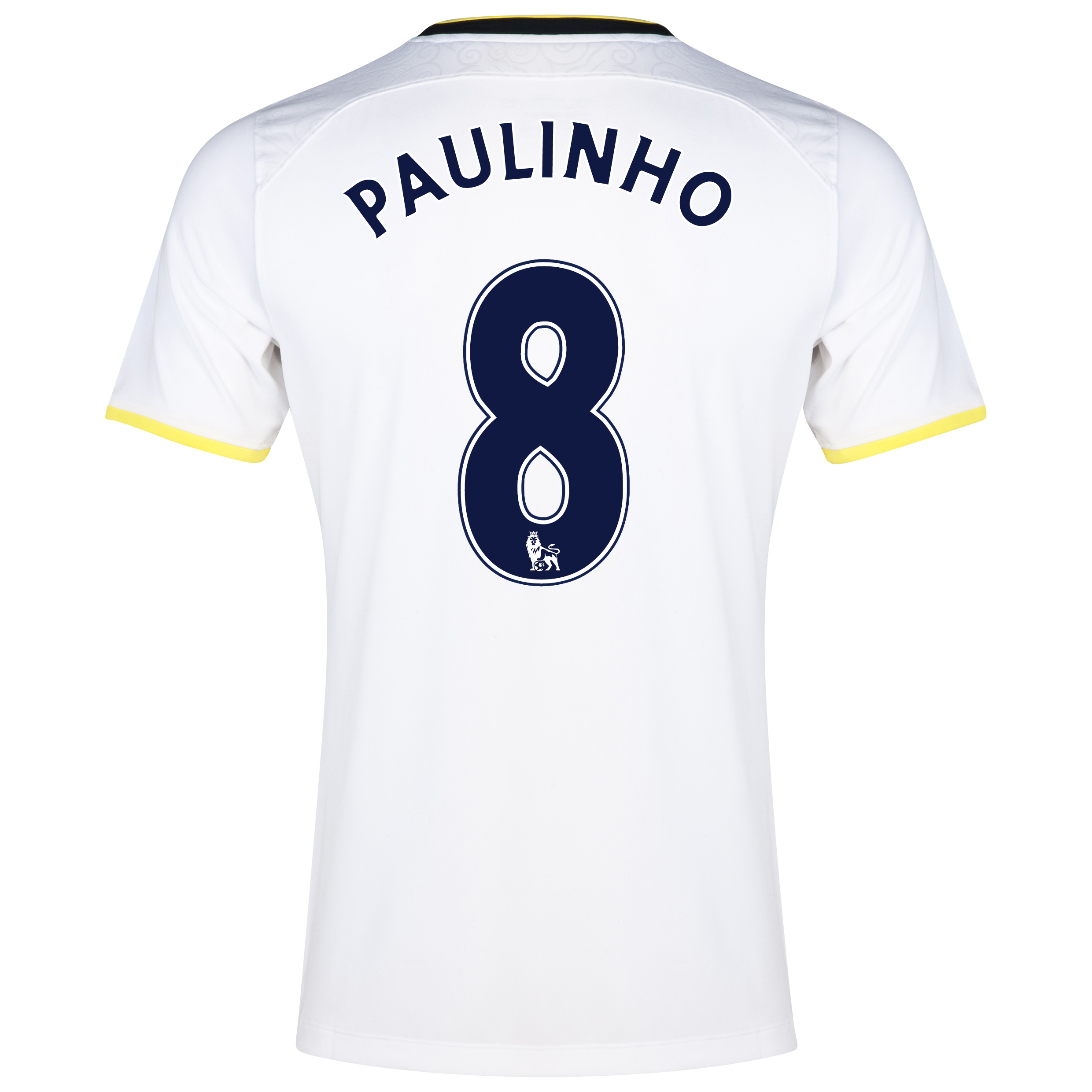 Tottenham Hotspur Home Shirt 2014/15 with Paulinho 8 printing