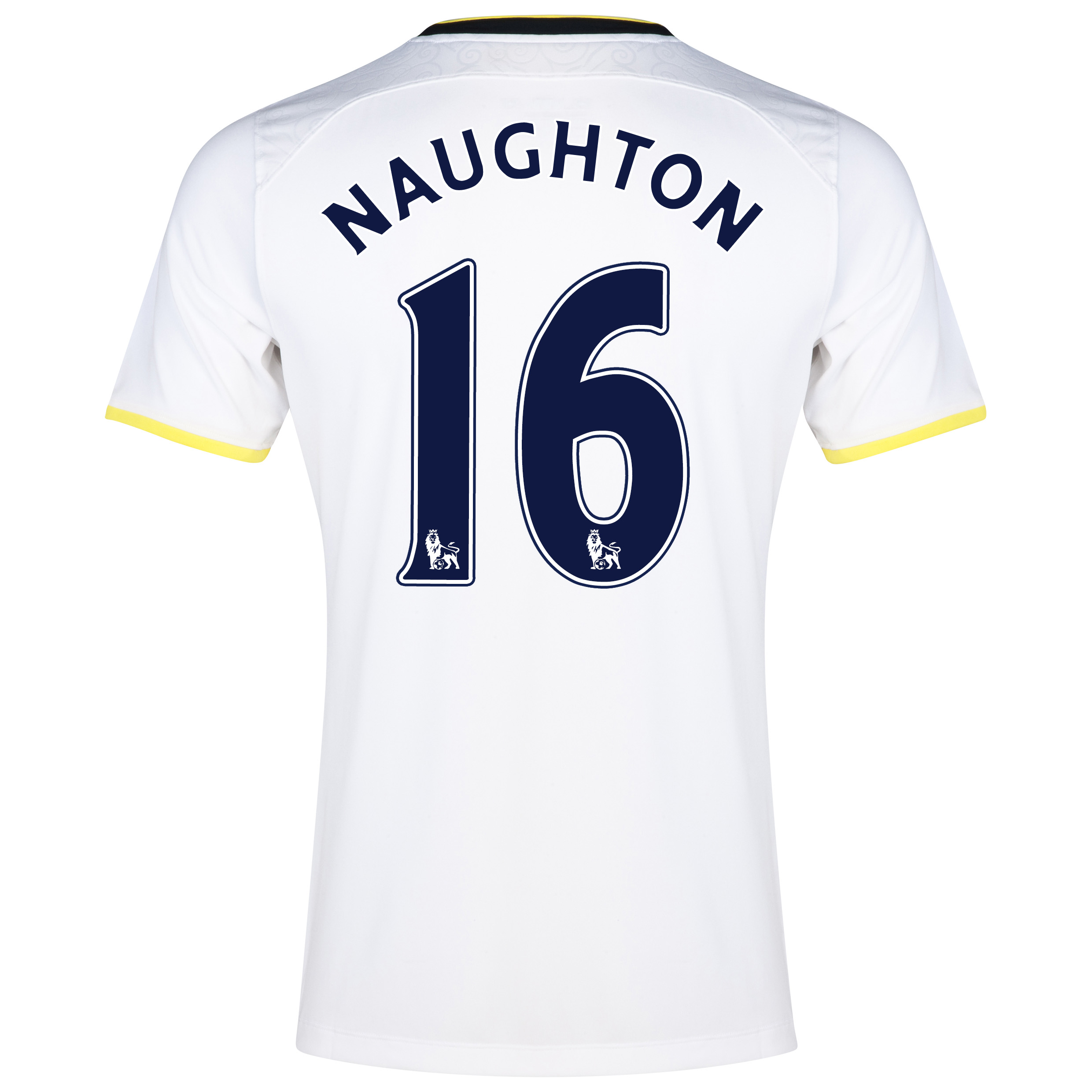 Tottenham Hotspur Home Shirt 2014/15 with Naughton 16 printing
