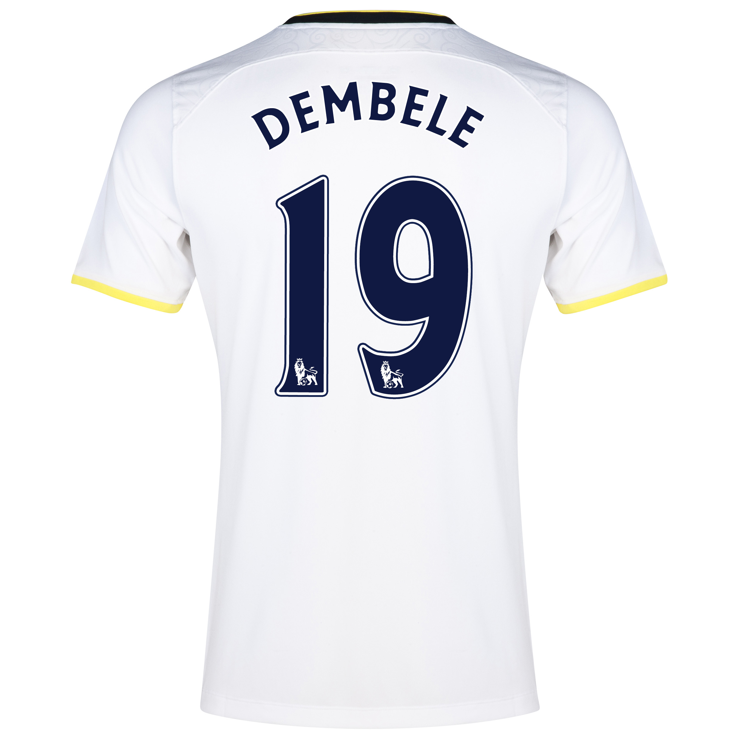 Tottenham Hotspur Home Shirt 2014/15 with Dembele 19 printing
