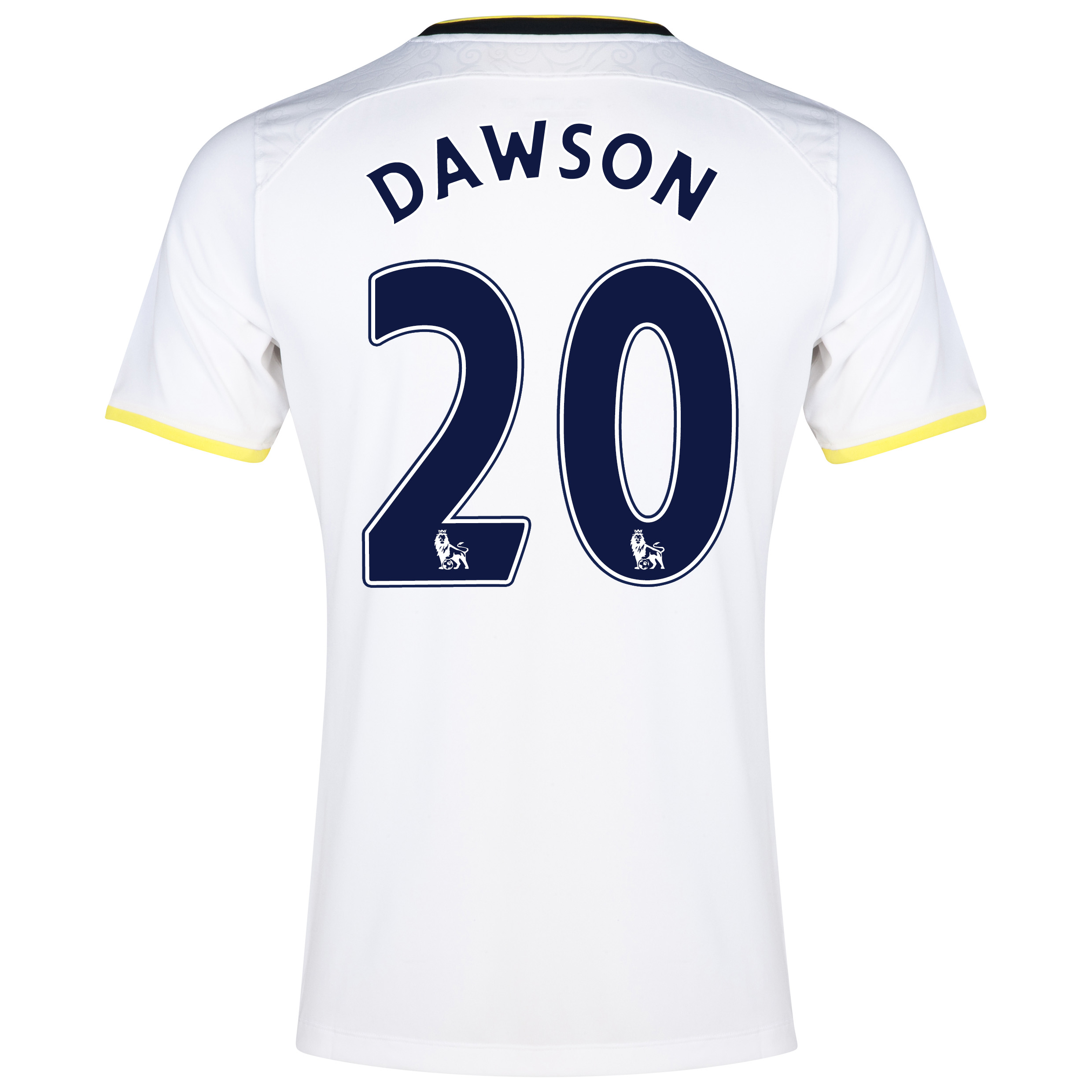 Tottenham Hotspur Home Shirt 2014/15 with Dawson 20 printing