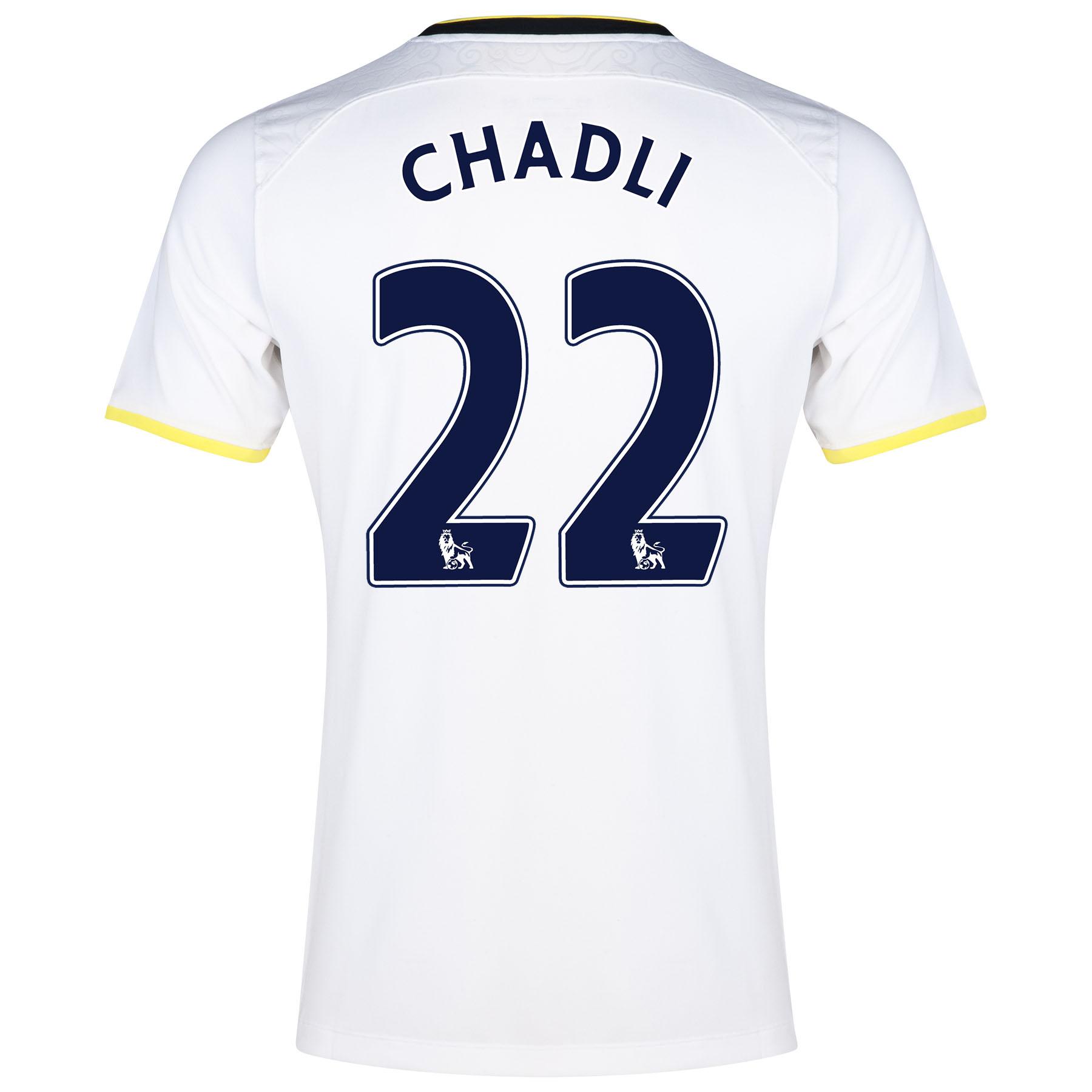 Tottenham Hotspur Home Shirt 2014/15 with Chadli 21 printing