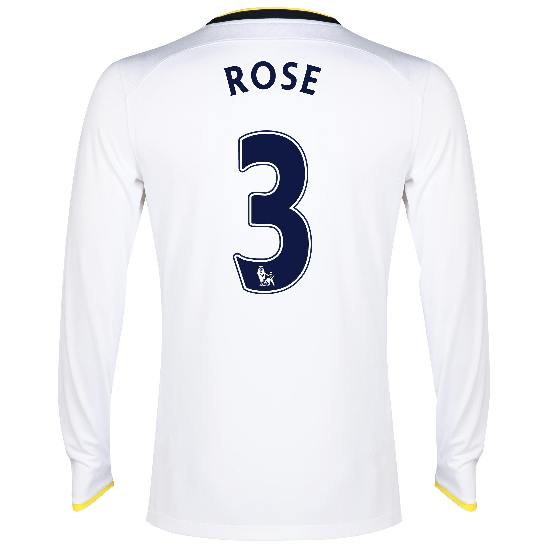 Tottenham Hotspur Home Shirt 2014/15 - Long Sleeve with Rose 3 printing