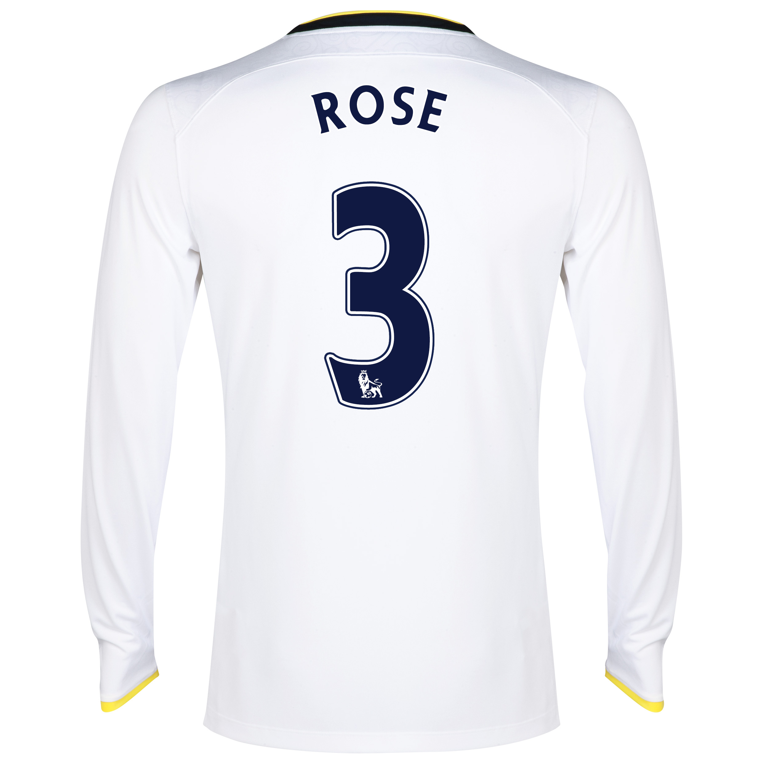 Tottenham Hotspur Home Shirt 2014/15 - Long Sleeve with Rose 3 printing