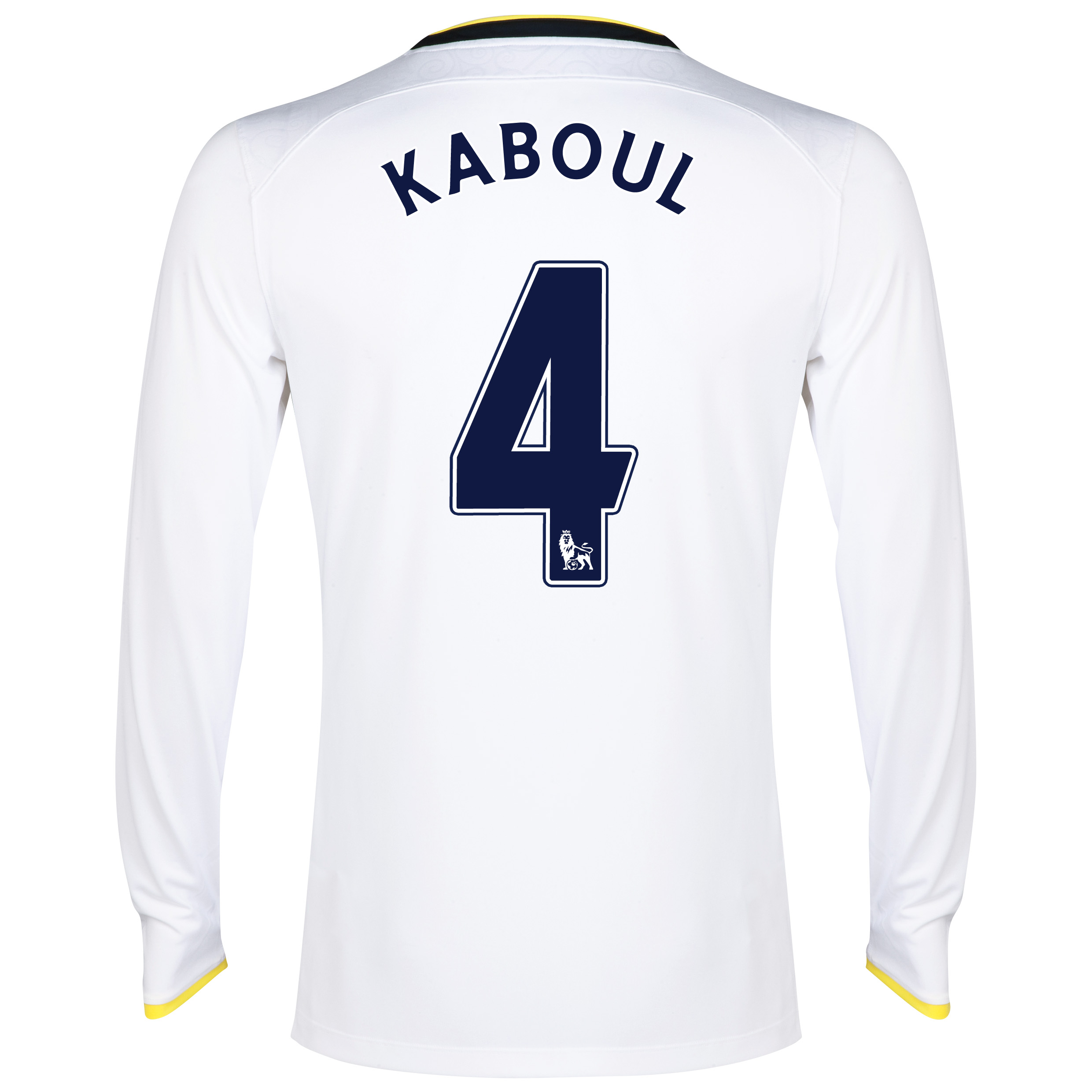 Tottenham Hotspur Home Shirt 2014/15 - Long Sleeve with Kaboul 4 printing