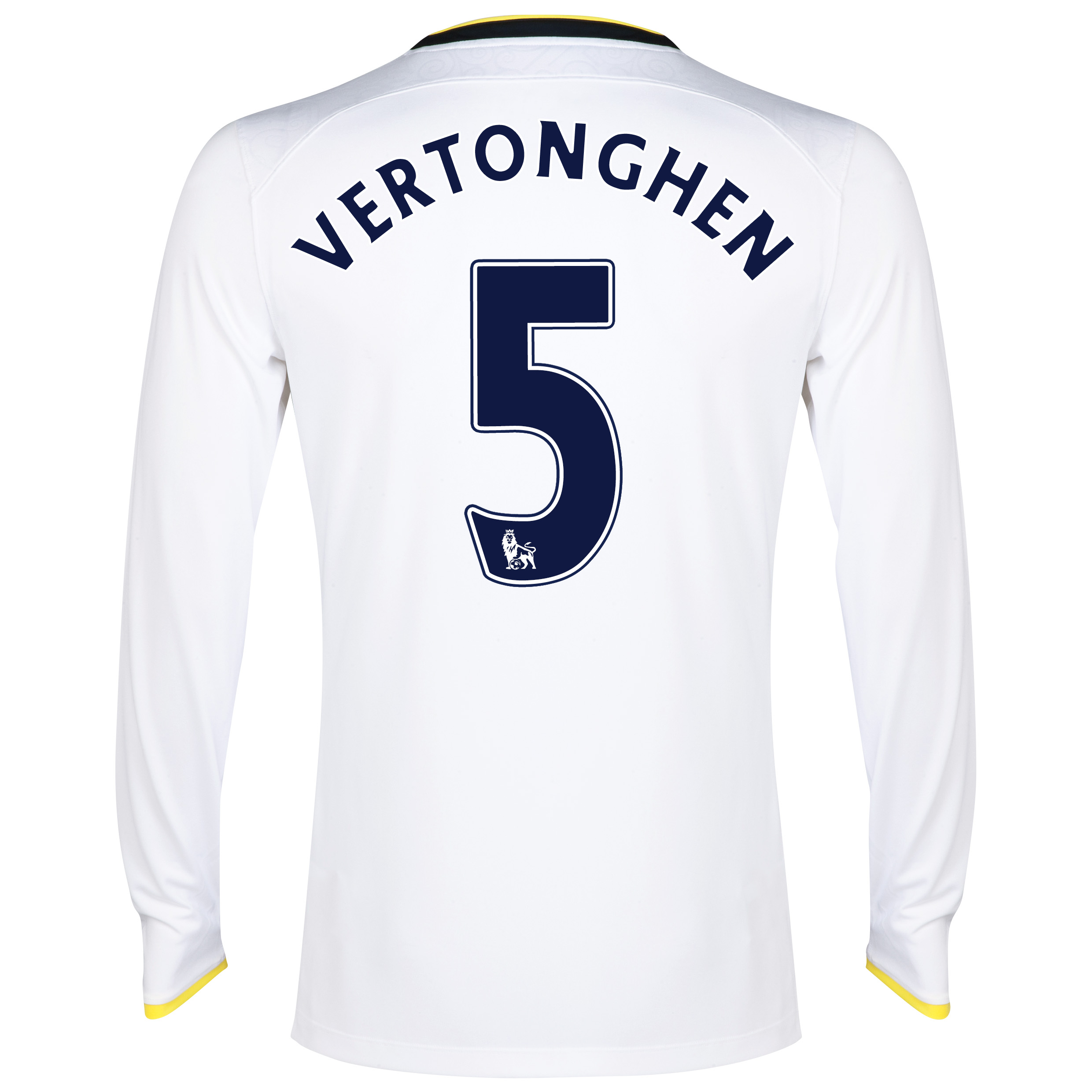 Tottenham Hotspur Home Shirt 2014/15 - Long Sleeve with Vertonghen 5 printing
