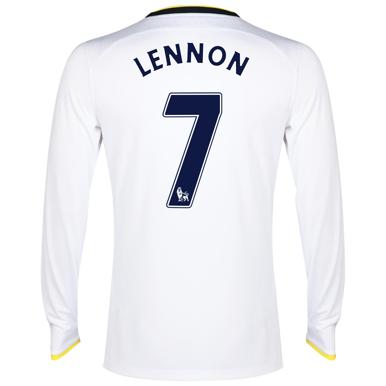 Tottenham Hotspur Home Shirt 2014/15 - Long Sleeve with Lennon 7 printing
