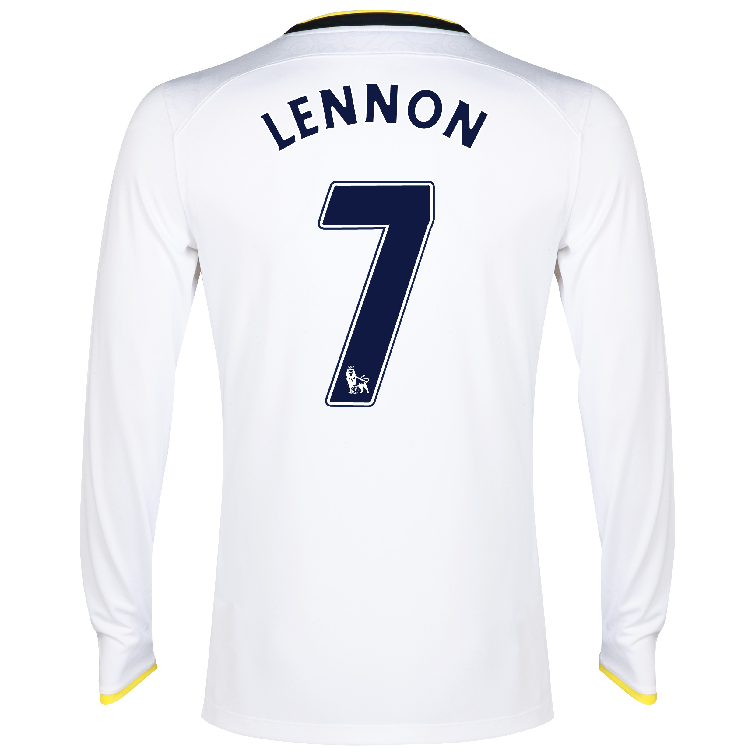 Tottenham Hotspur Home Shirt 2014/15 - Long Sleeve with Lennon 7 printing