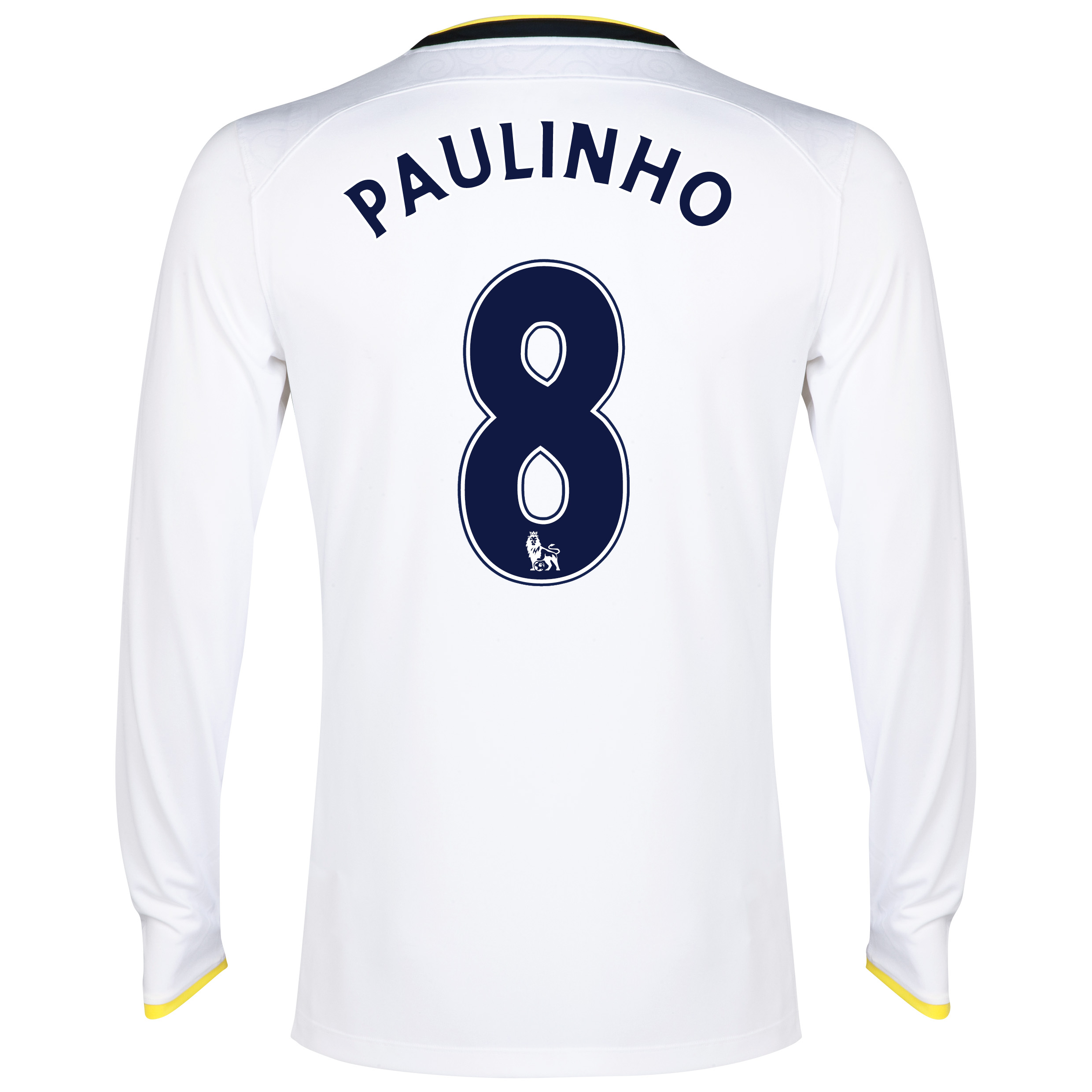 Tottenham Hotspur Home Shirt 2014/15 - Long Sleeve with Paulinho 8 printing