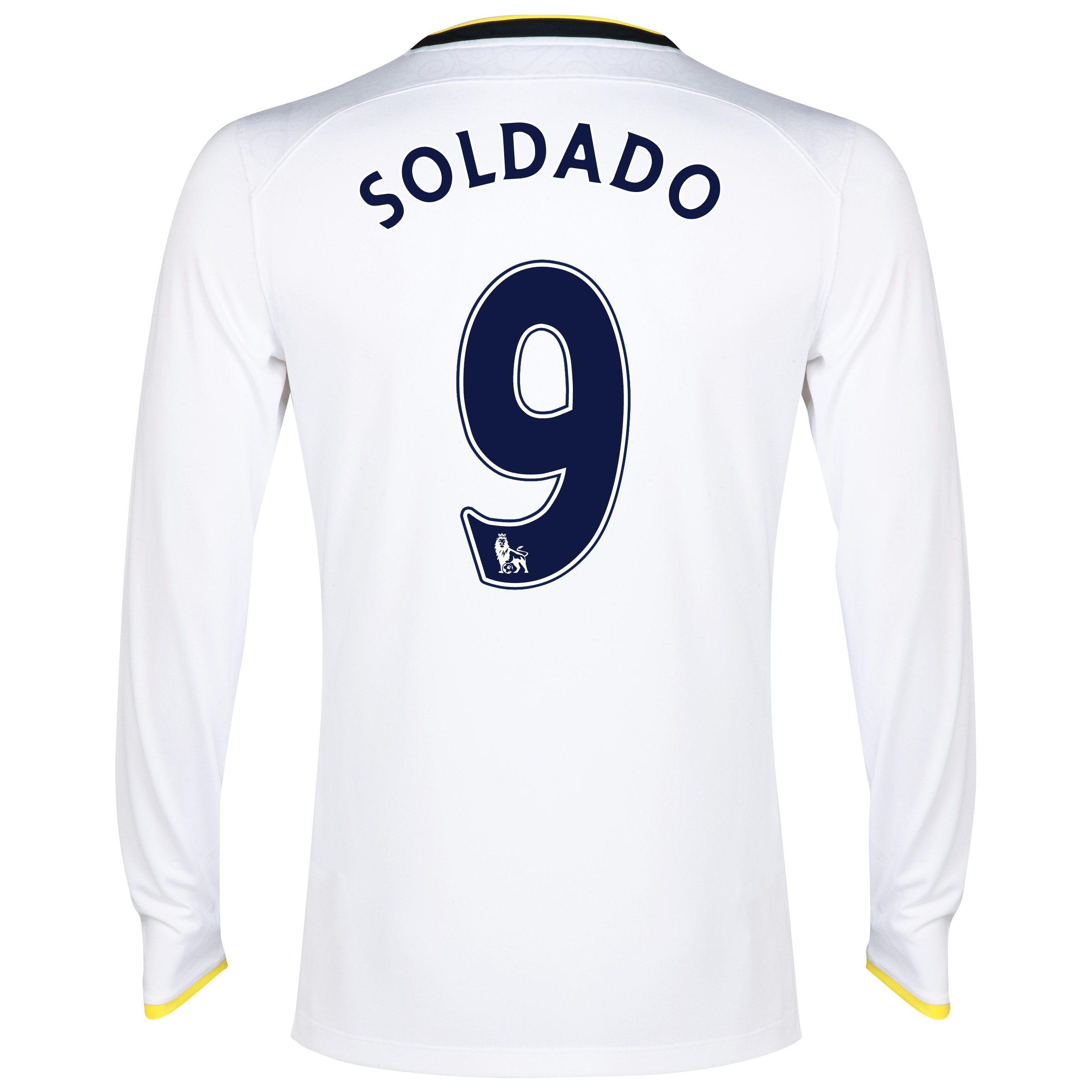 Tottenham Hotspur Home Shirt 2014/15 - Long Sleeve with Soldado 9 printing
