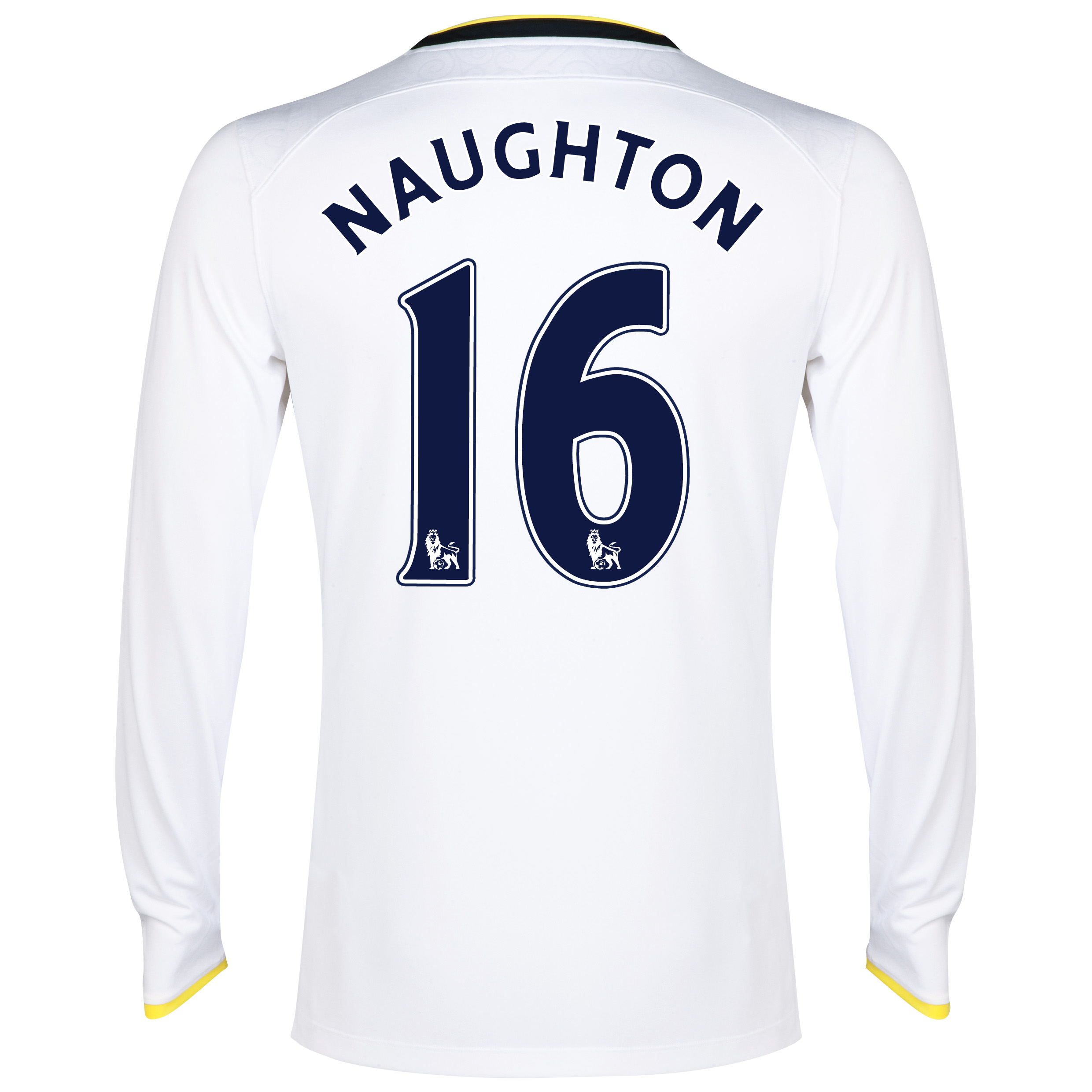Tottenham Hotspur Home Shirt 2014/15 - Long Sleeve with Naughton 16 printing