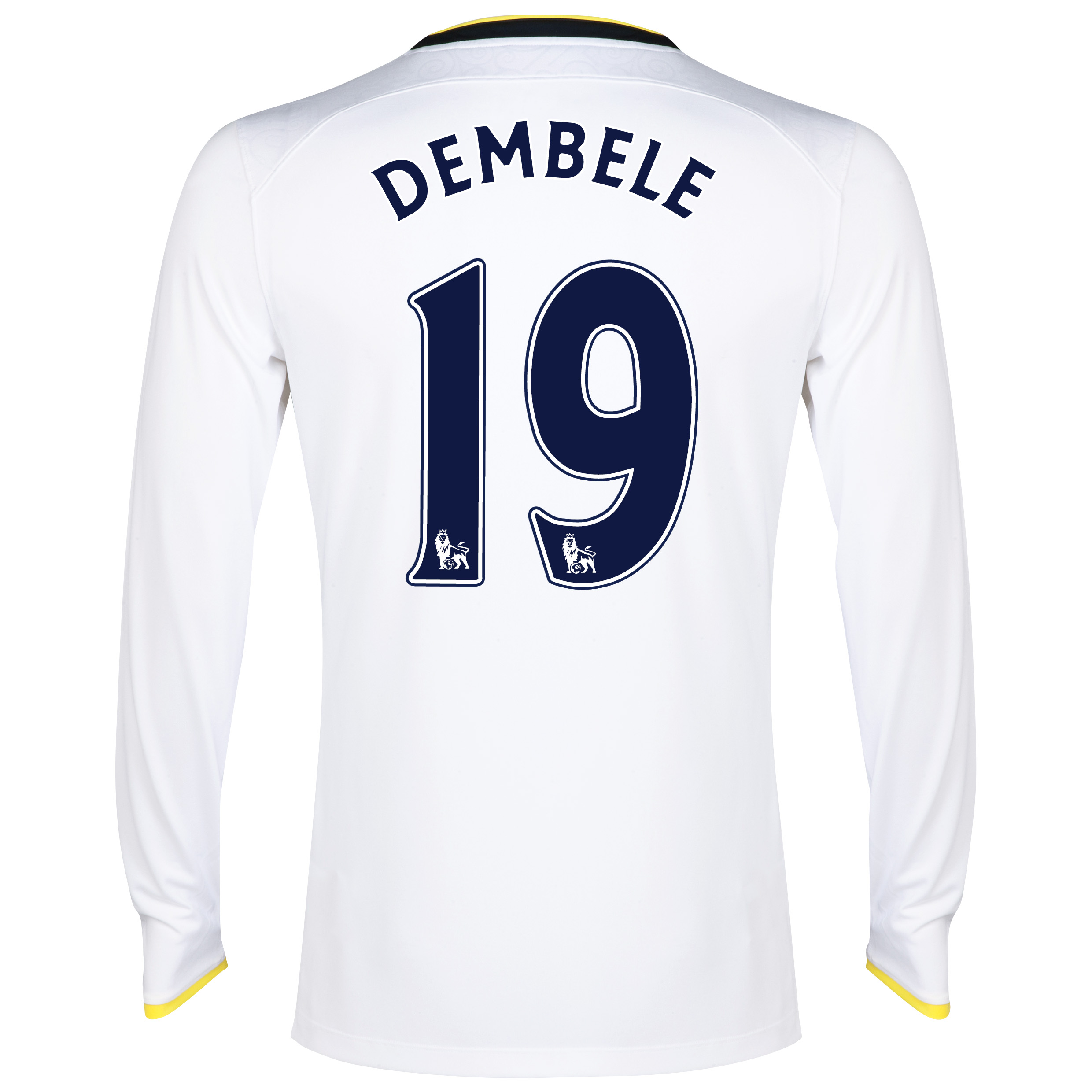 Tottenham Hotspur Home Shirt 2014/15 - Long Sleeve with Dembele 19 printing