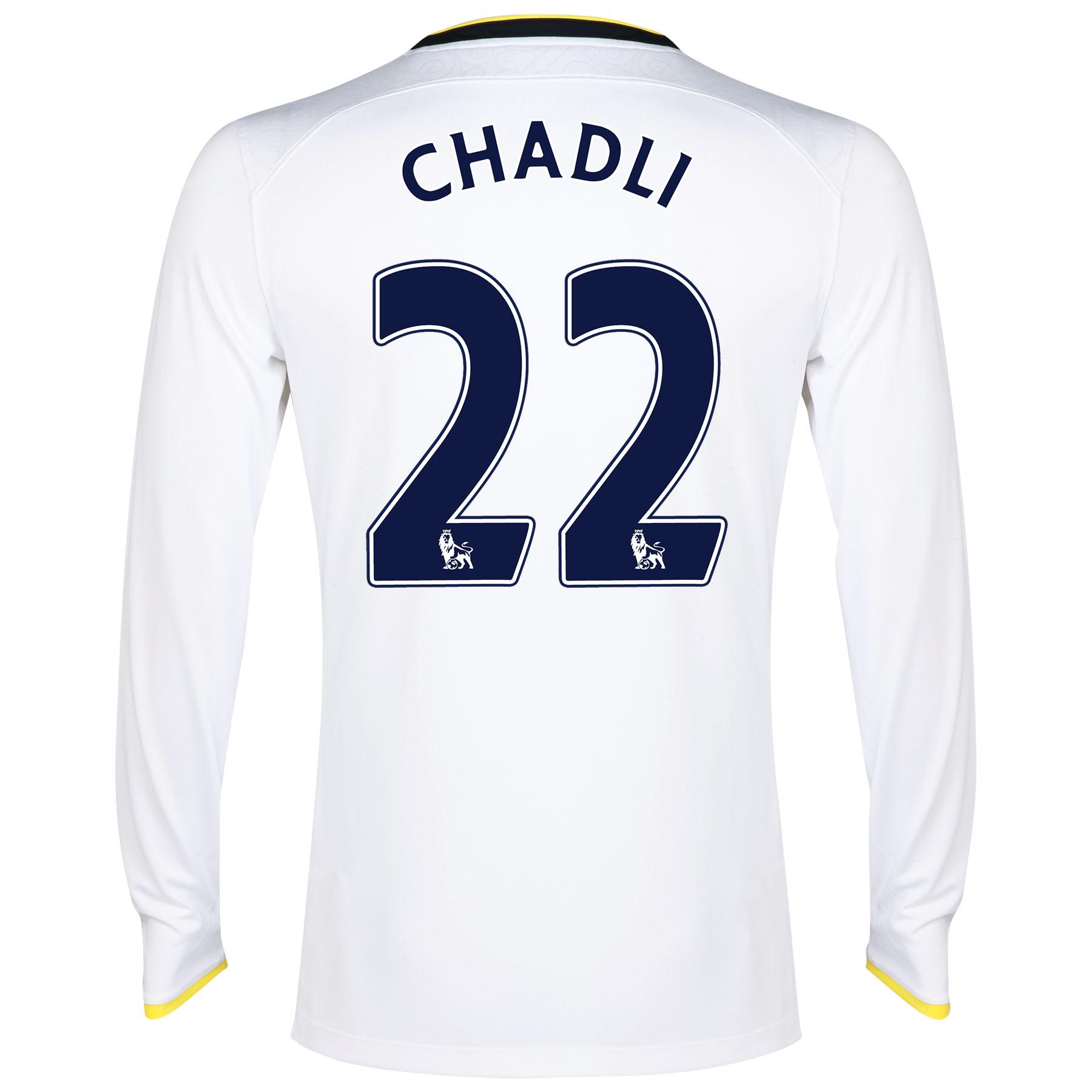 Tottenham Hotspur Home Shirt 2014/15 - Long Sleeve with Chadli 21 printing