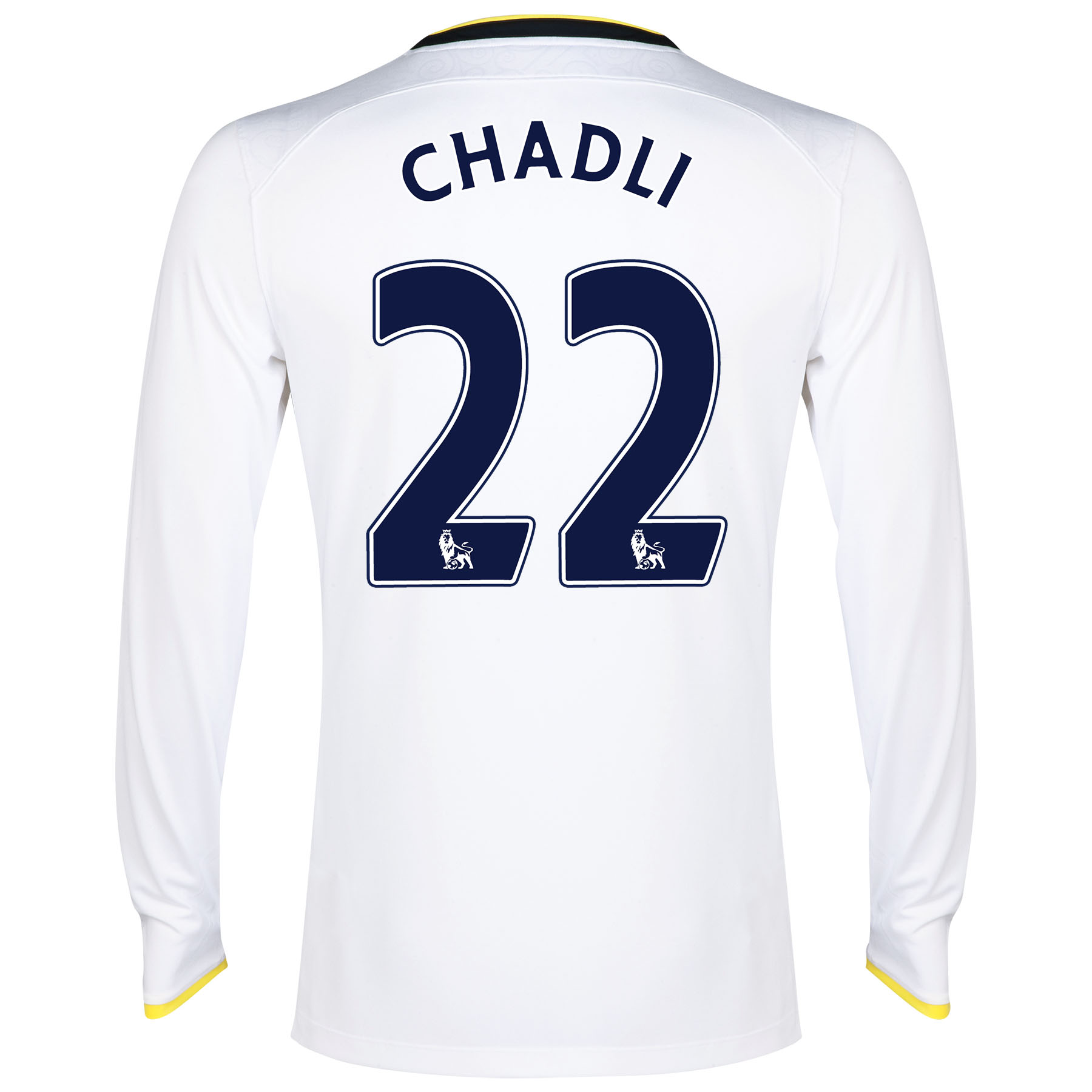 Tottenham Hotspur Home Shirt 2014/15 - Long Sleeve with Chadli 21 printing