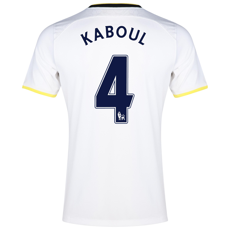 Tottenham Hotspur Home Shirt 2014/15 - Kids with Kaboul 4 printing
